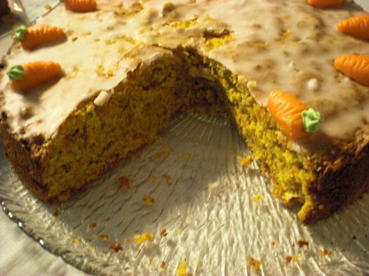 Swiss Almond Carrot Cake (Aargauer Rueblitorte) AllrecipesPhoto