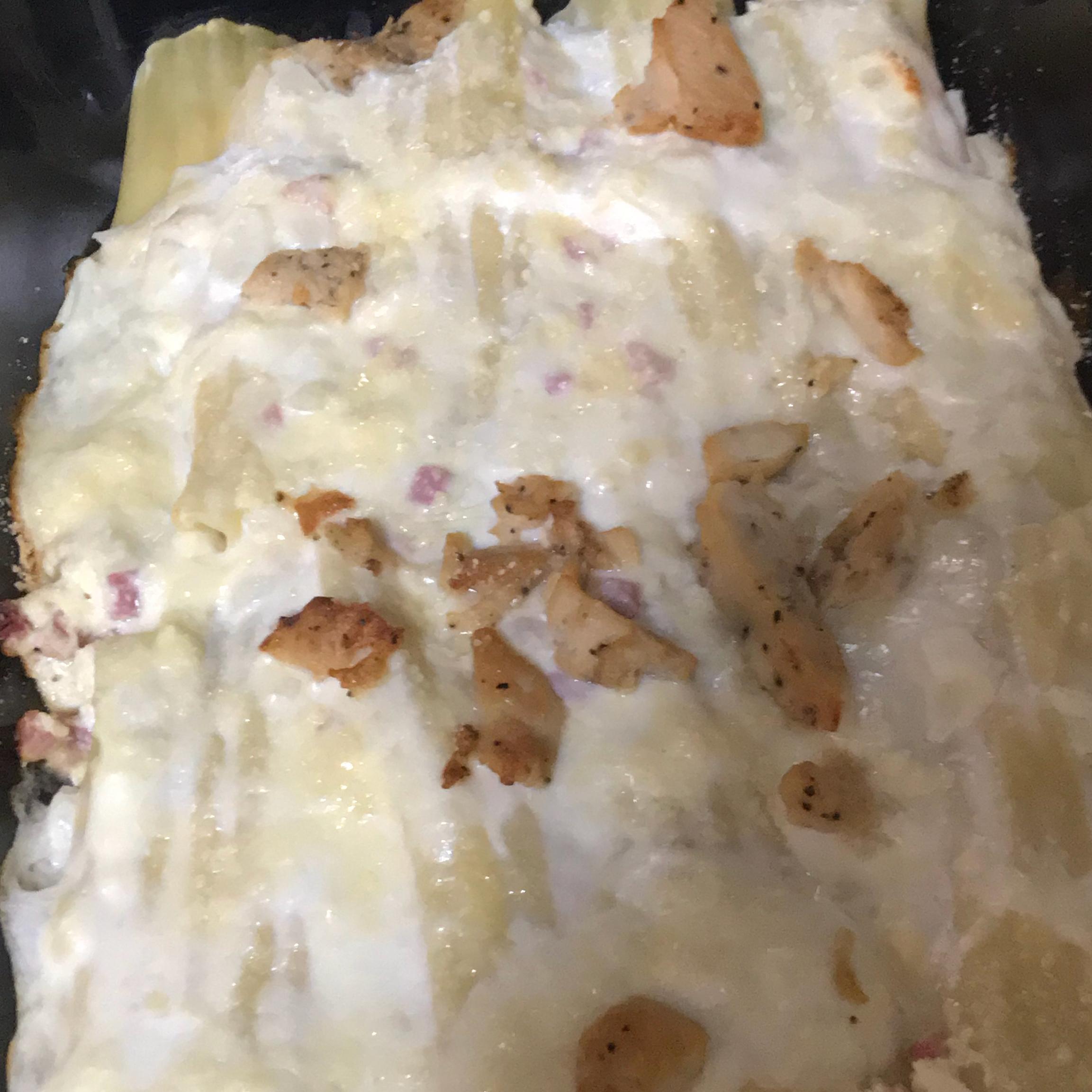 Creamy Chicken Manicotti Angela Skaggs