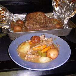 Pot Roast in Foil
