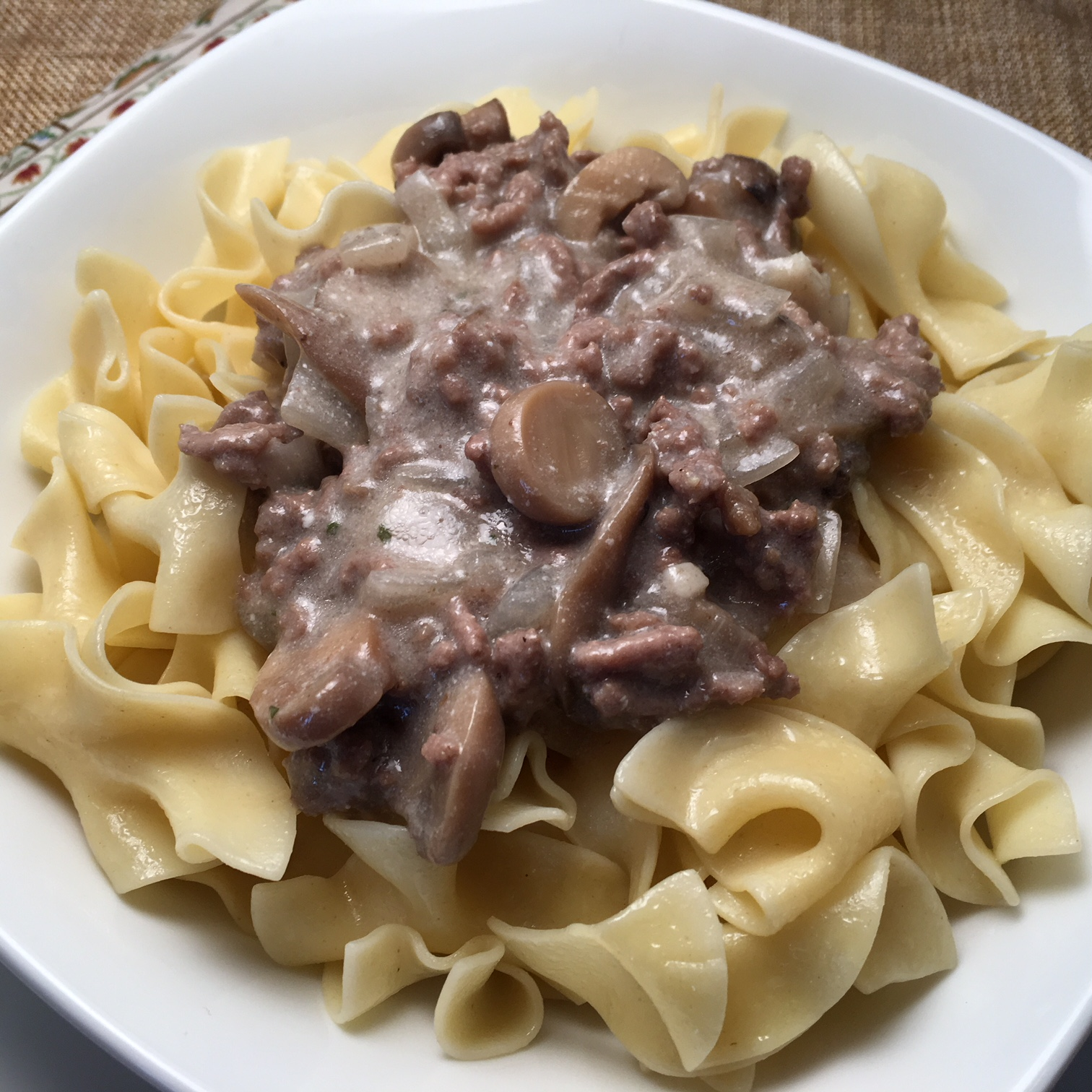 Our Favorite Beef Stroganoff