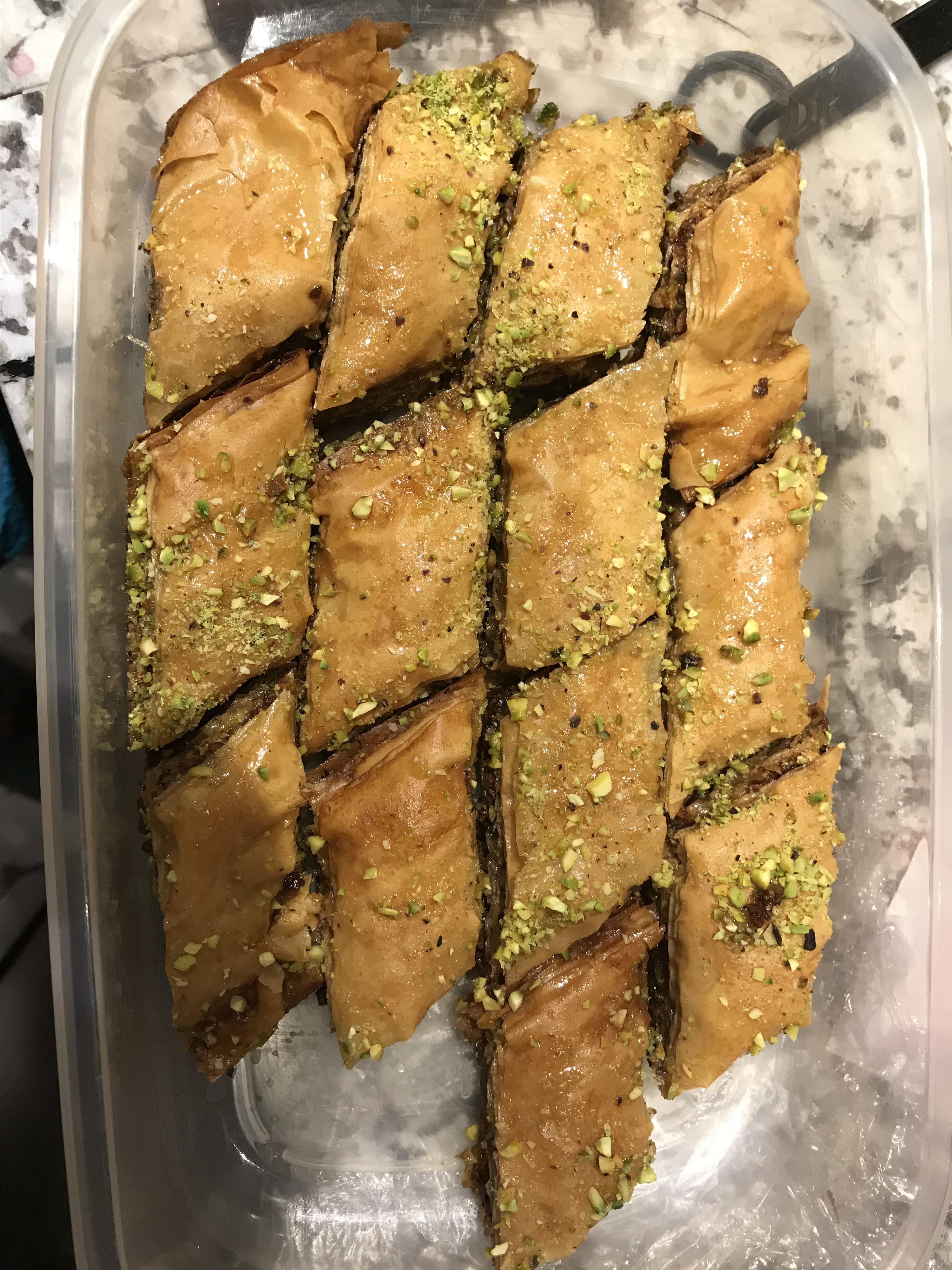 Easy Baklava Dalida El-Samra