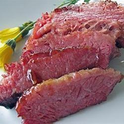 Mustard Glazed Corned Beef