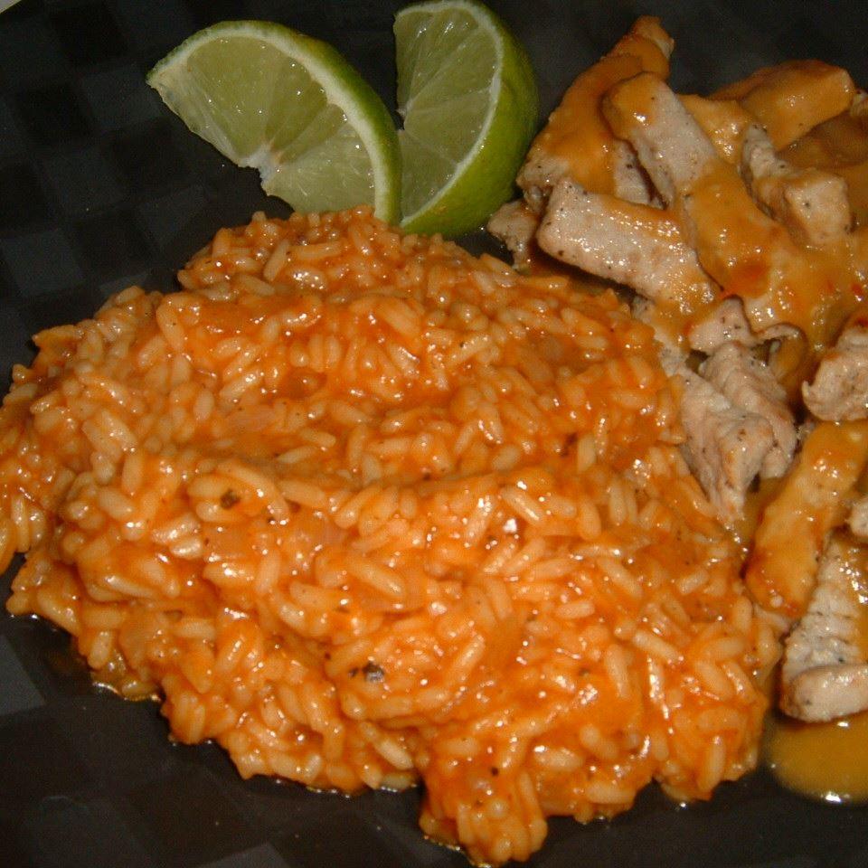 Simple Mexican Rice Caroline C