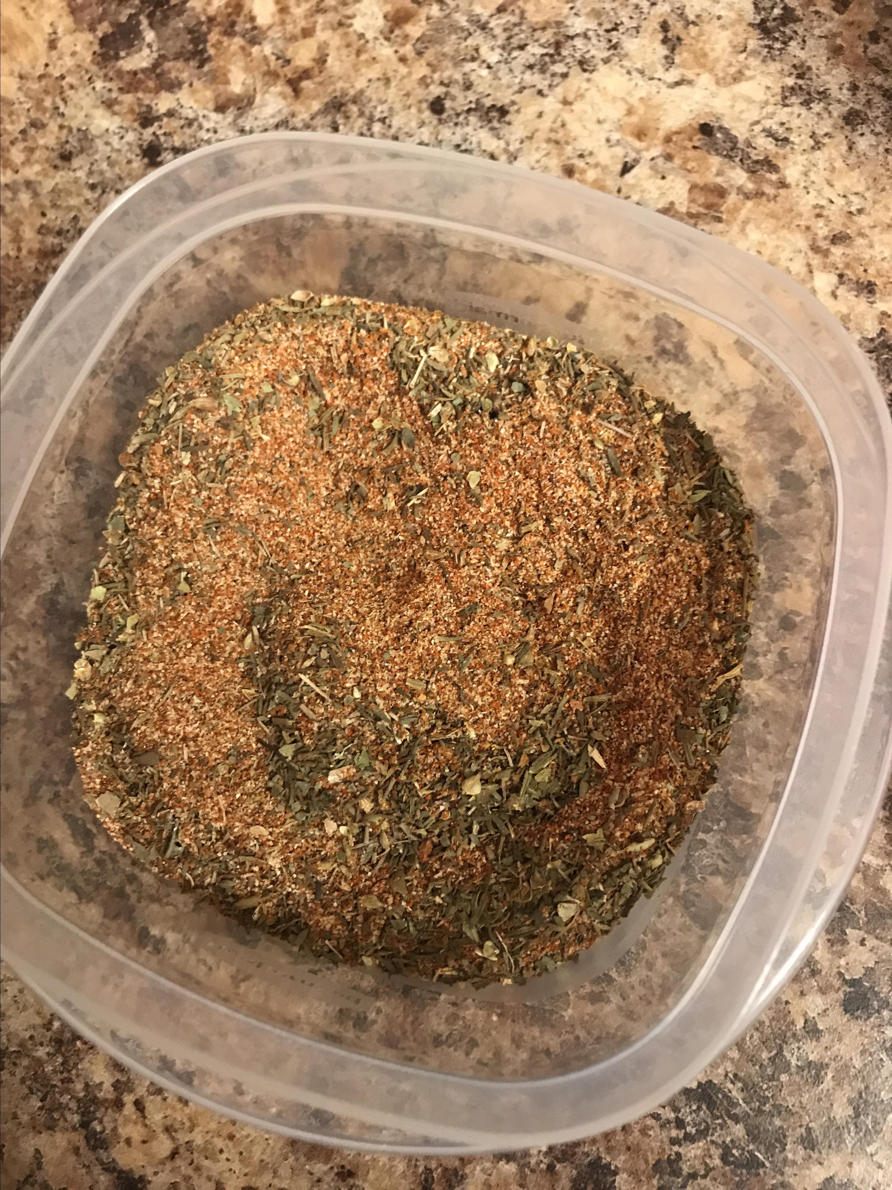 Blackened Seasoning Mix