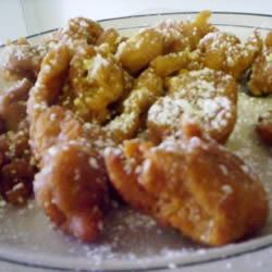 Pumpkin Funnel Cakes Tanaquil