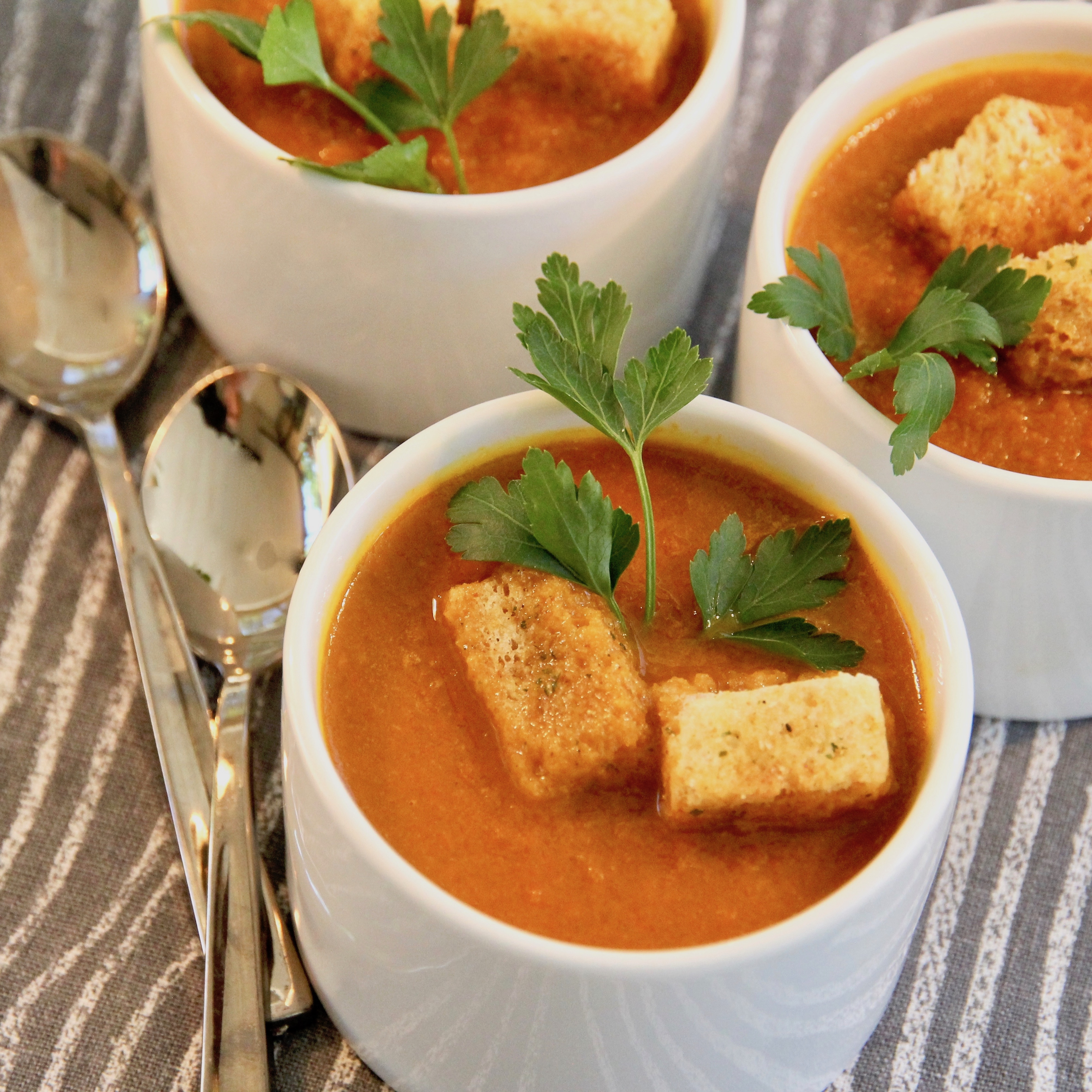Curried Carrot Soup lutzflcat