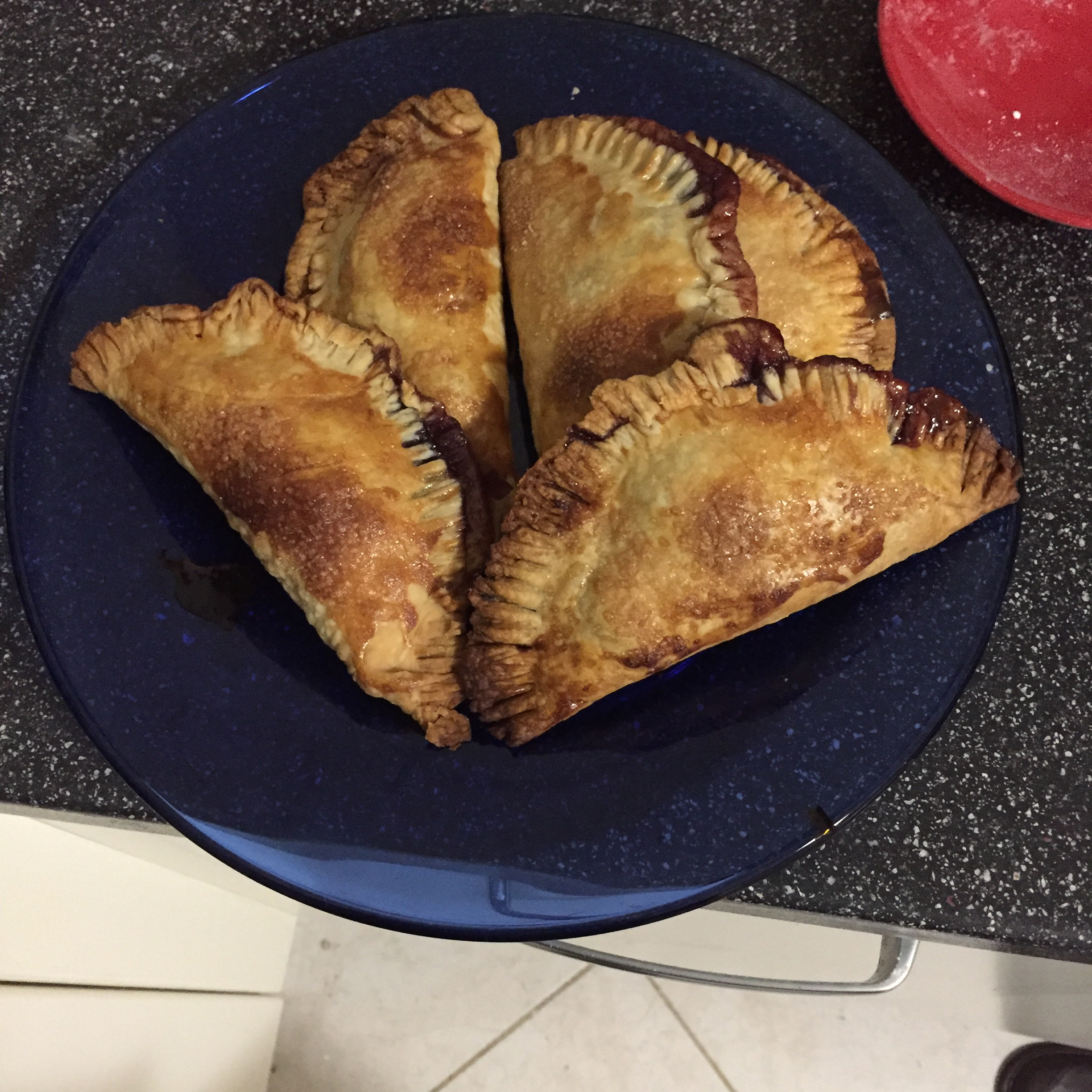 Shelly Hospitality's Blueberry Turnover Hand Pies Cedrick Jessup