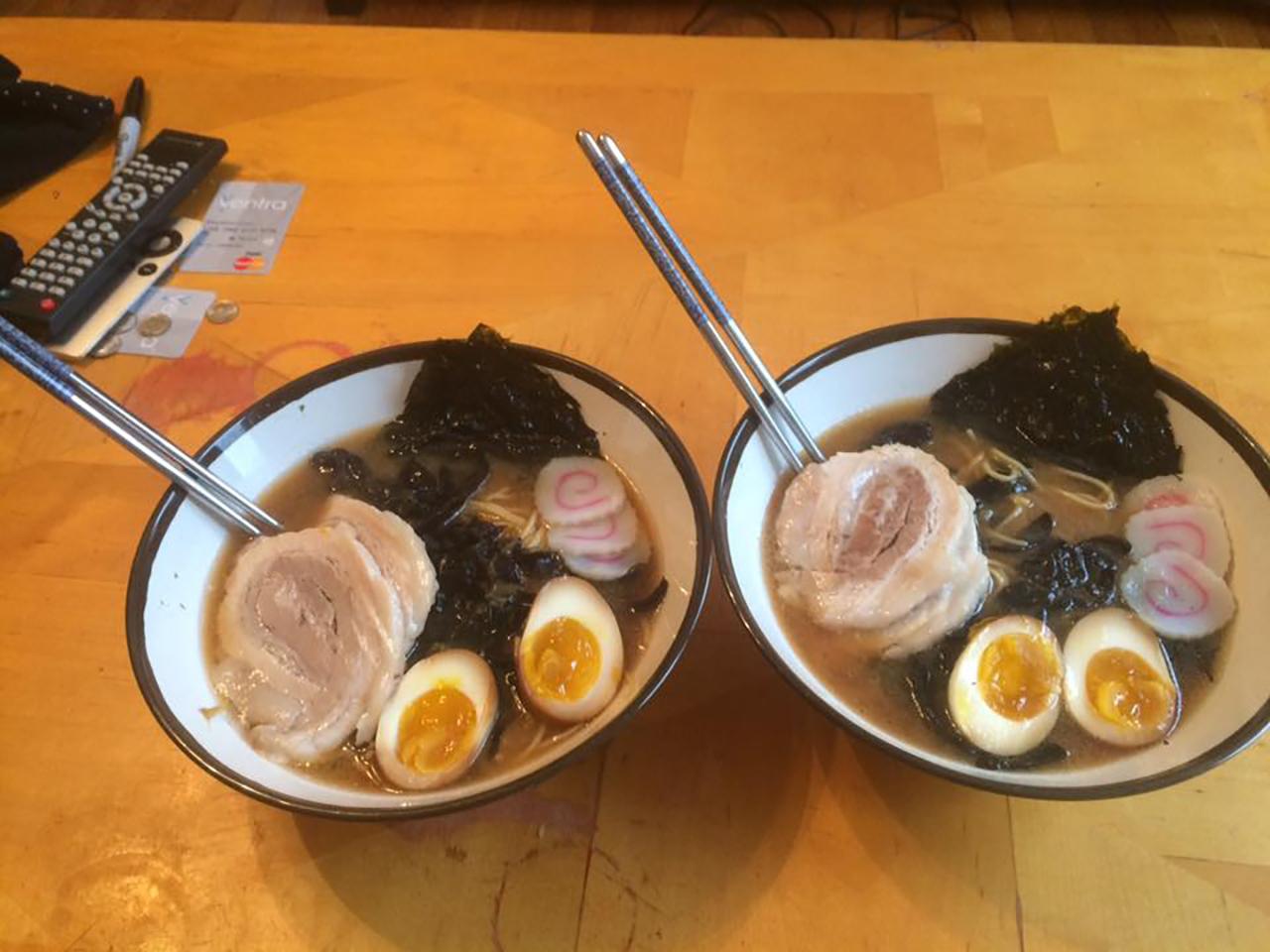 Restaurant-Style Shoyu Miso Ramen