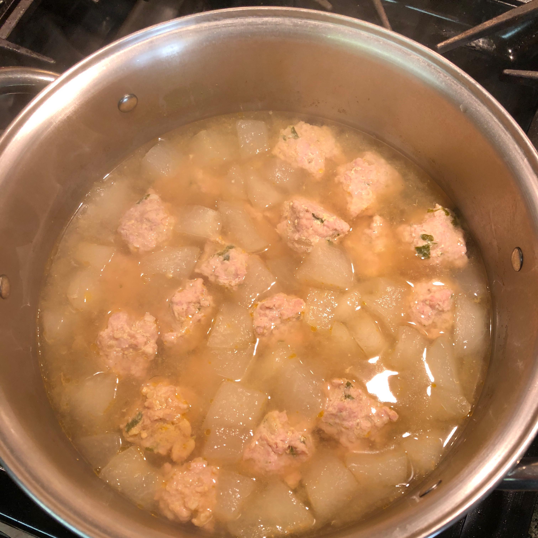Winter Melon Meatball Soup Mama Rho