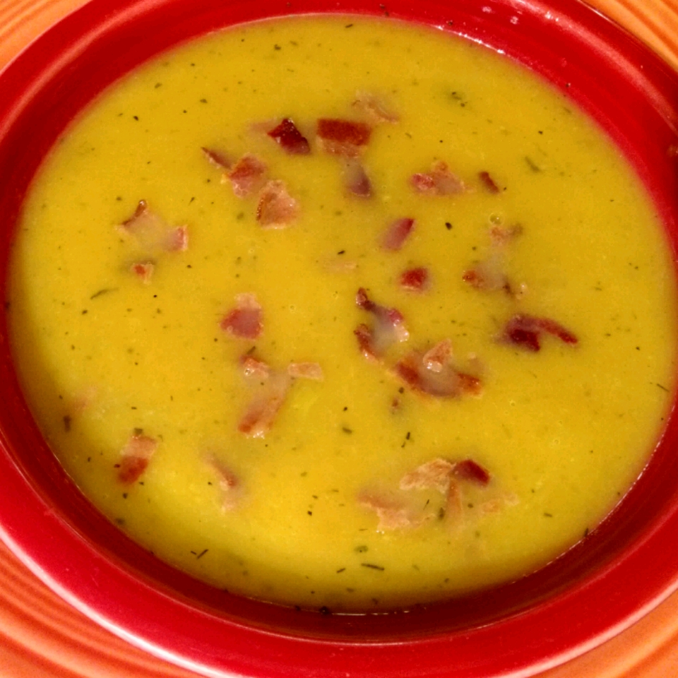 Butternut Squash and Apple Soup Jerome Cook