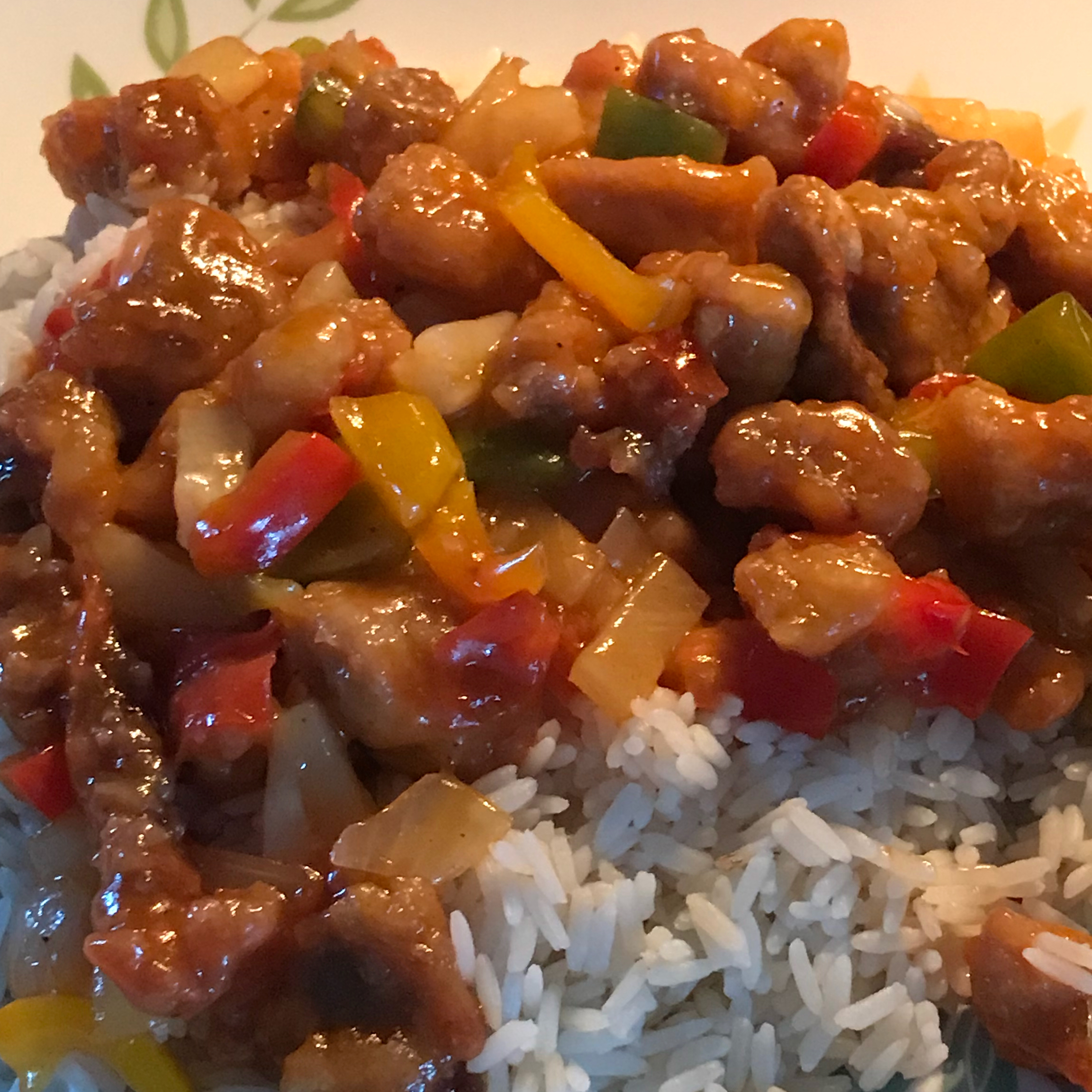 Sweet and Sour Pork I Colleen Francisco