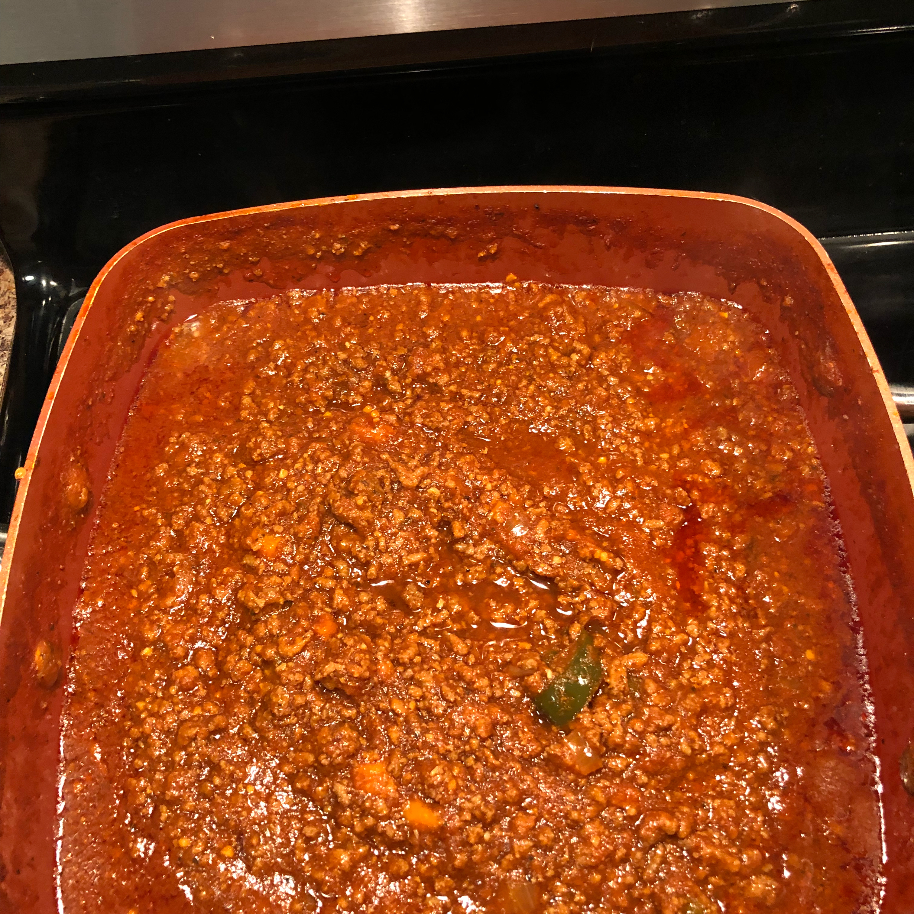 Spicy Slow-Cooked Beanless Chili Timothy Hanshaw
