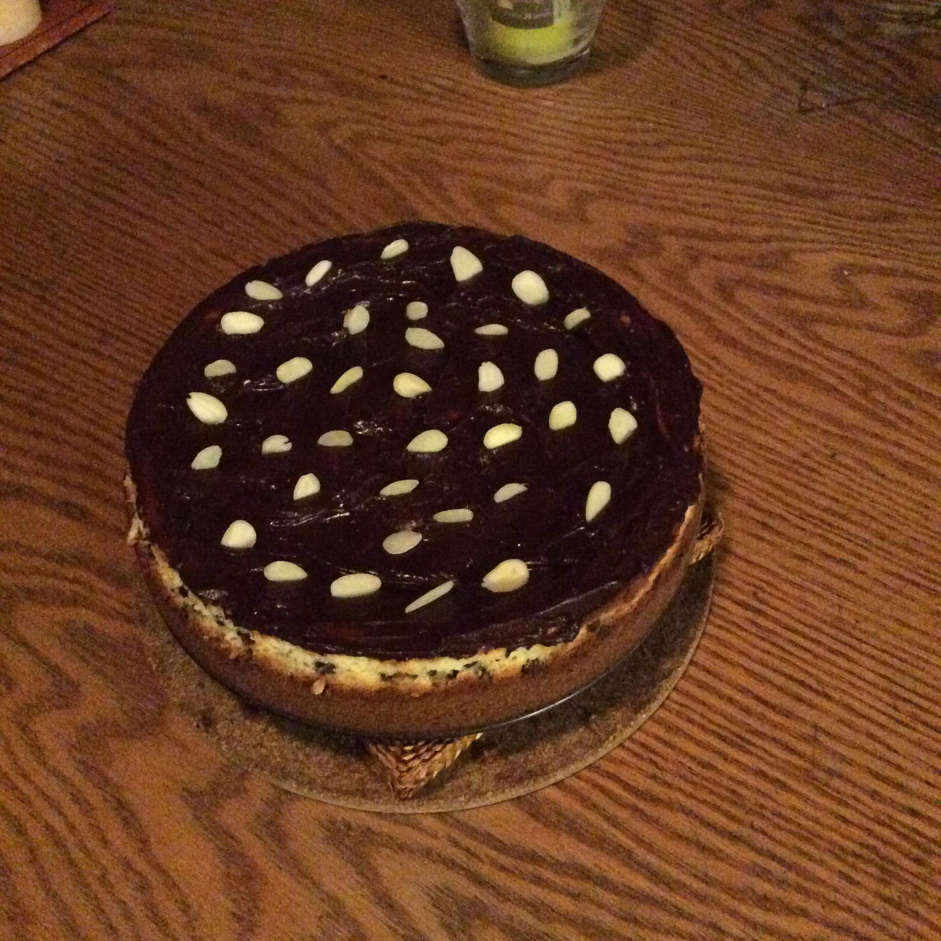 Hazelnut and Chipped Chocolate Cheesecake Cathi