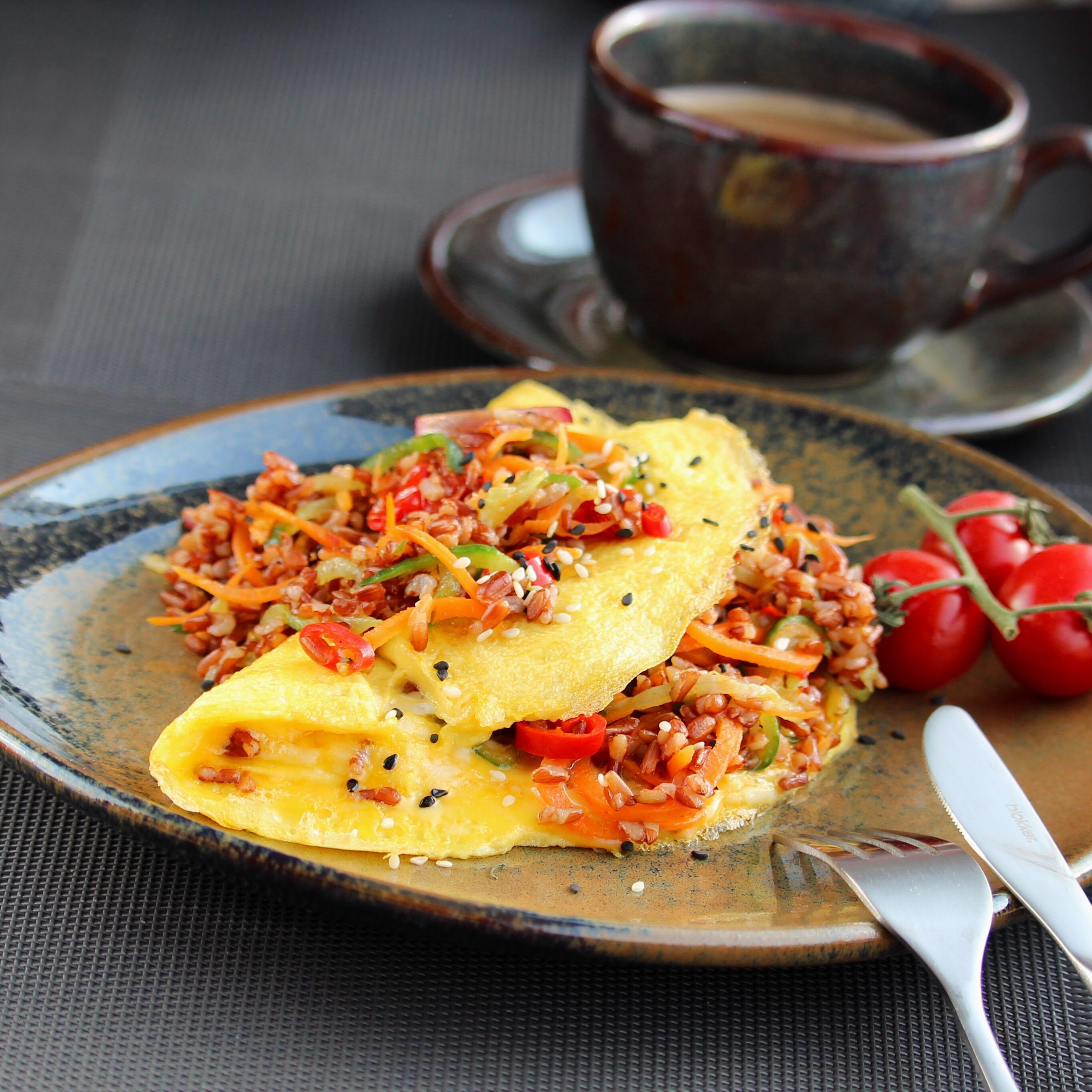 Jora's Rice Omelet