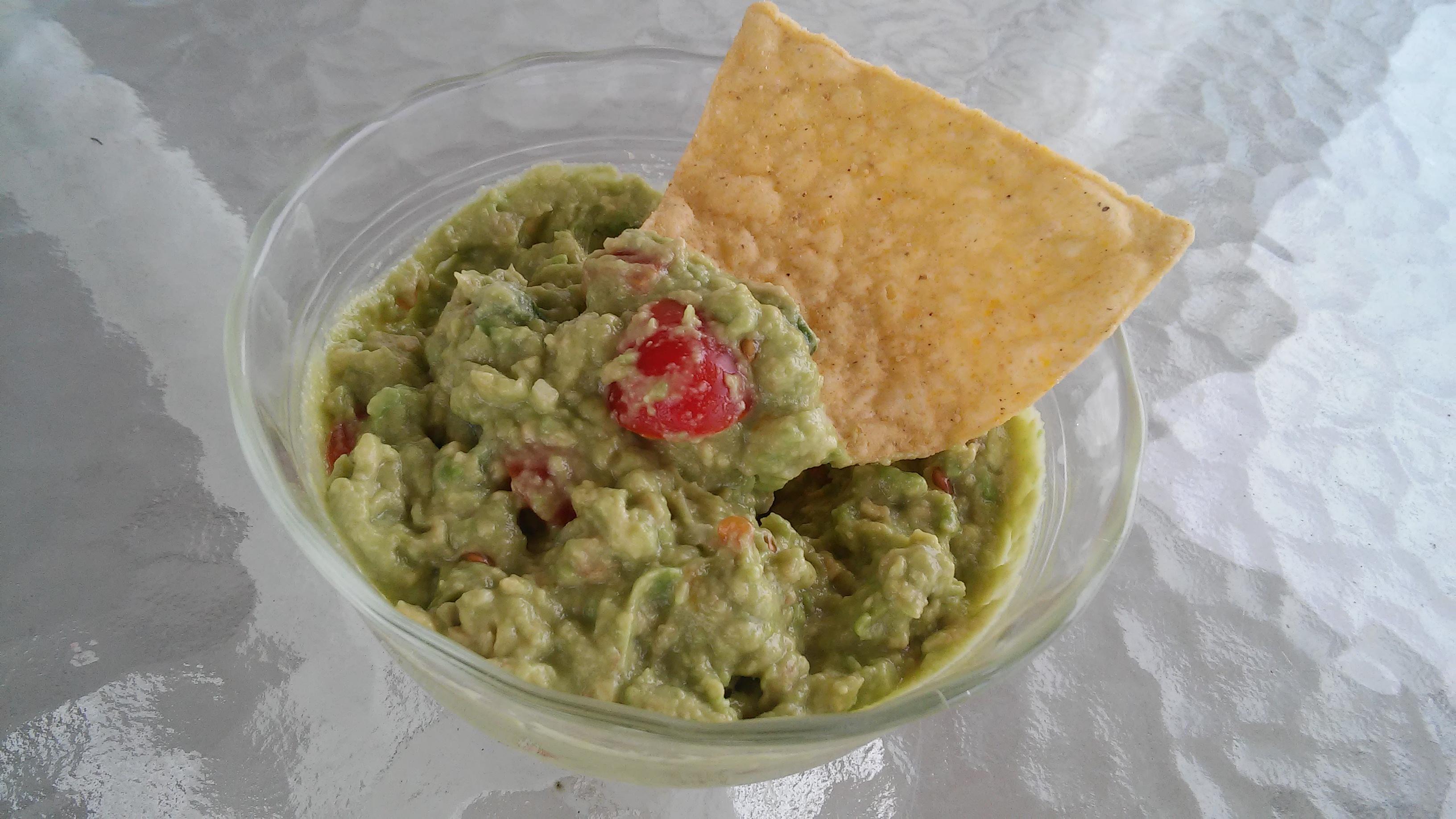 Basic Guacamole Dip