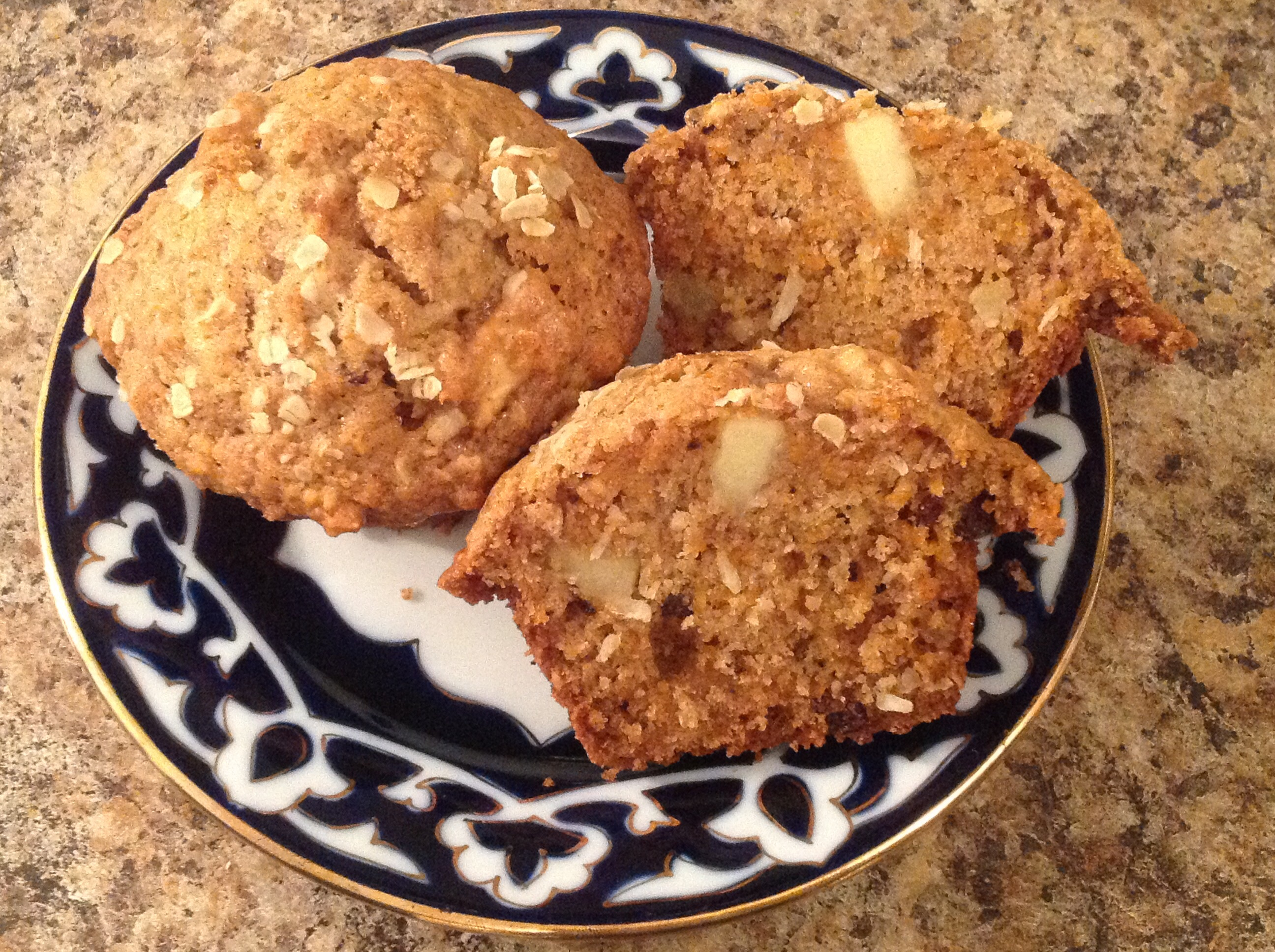 Easy Morning Glory Muffins hilola