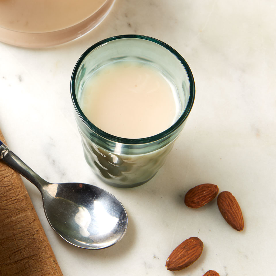 Homemade Almond Milk Michelle Edelbaum