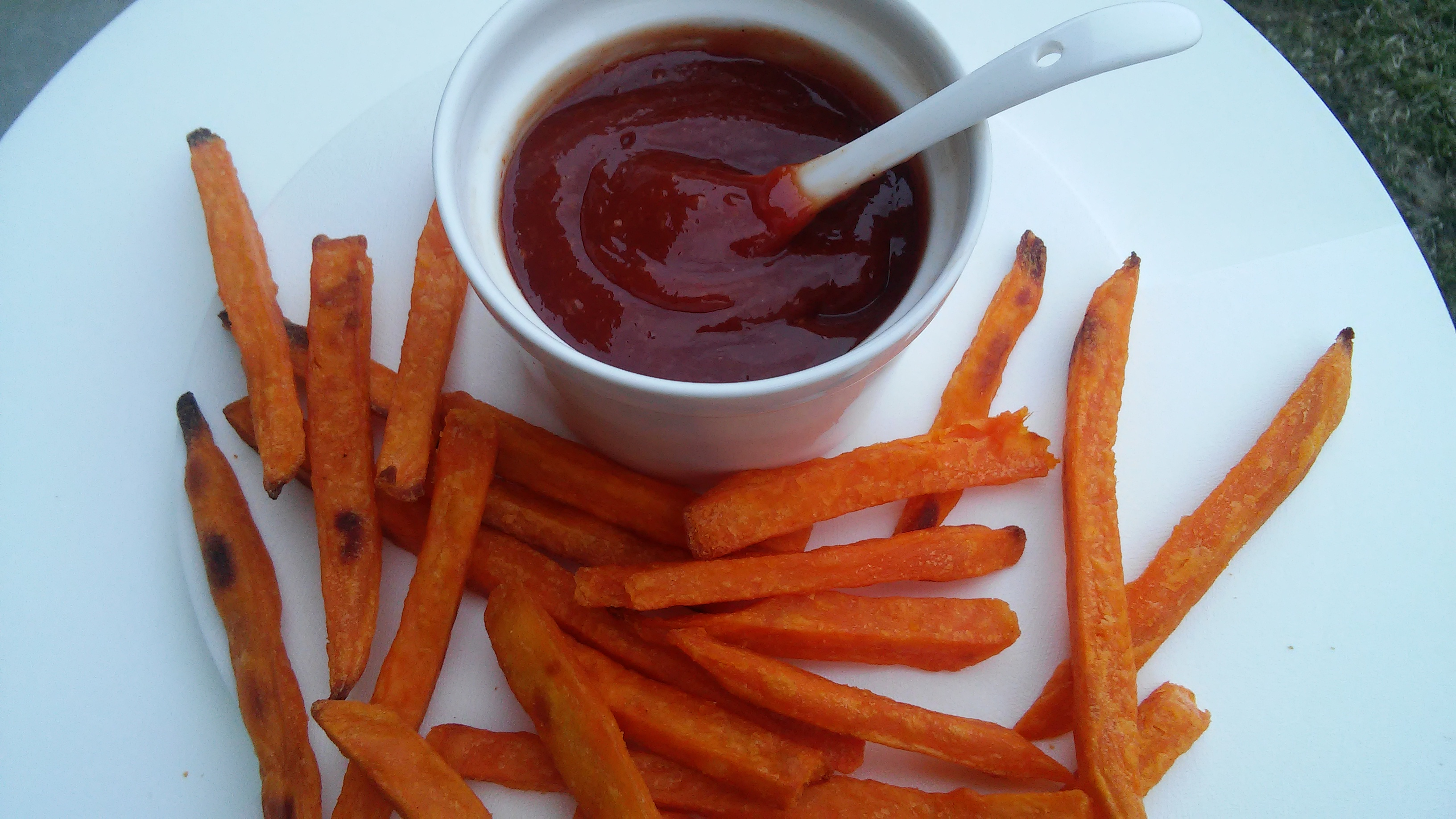 Easy Spicy Ketchup Dip for Sweet Potato Fries Tammy Lynn