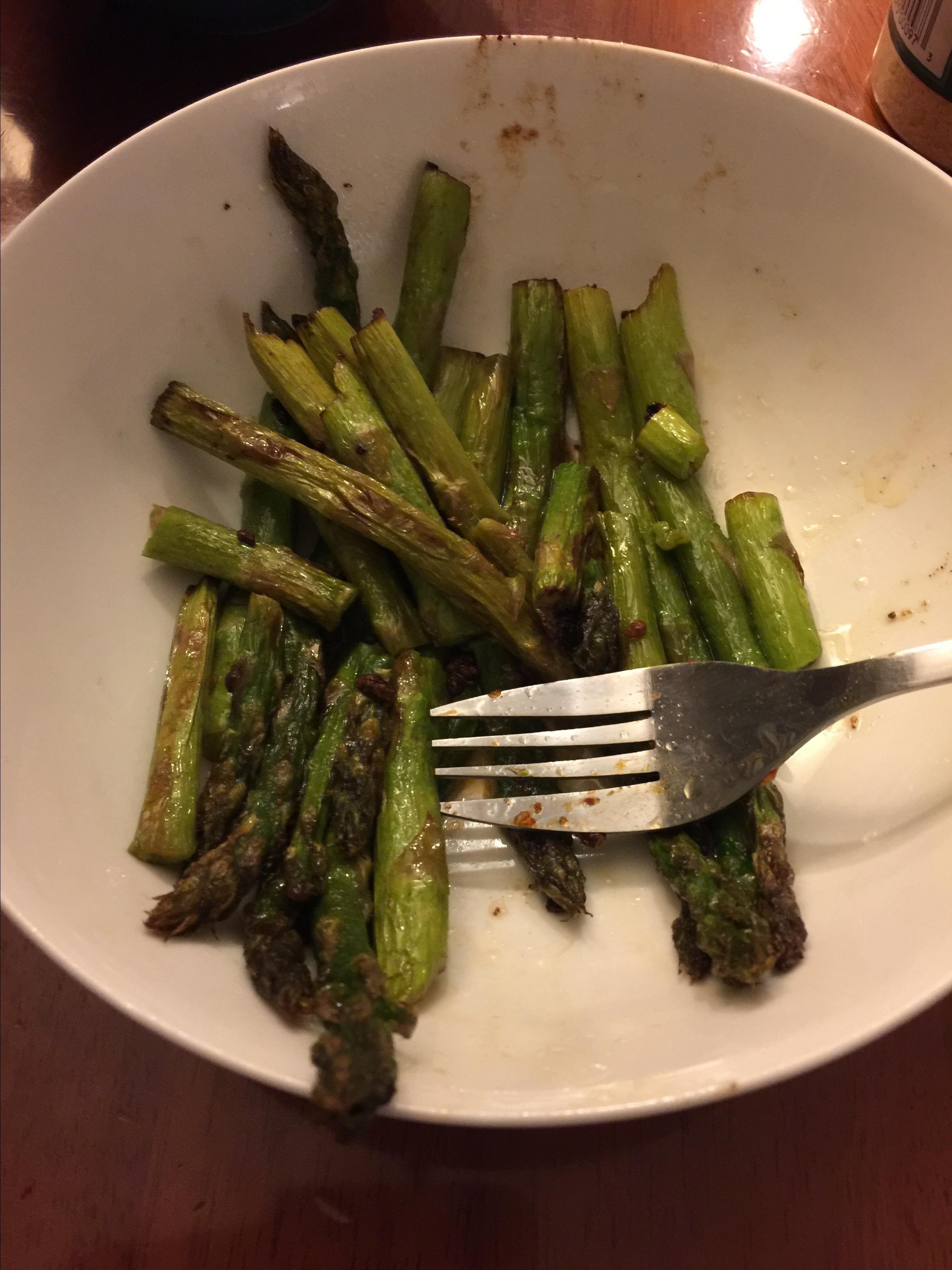 Pan-Fried Asparagus Karen Hsu
