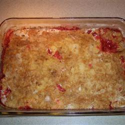 Aunt Kaye's Rhubarb Dump Cake Nancy Roy