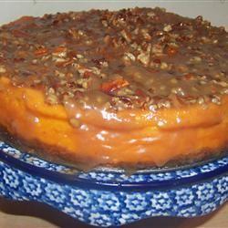 Sweet Potato Cheesecake MrsHappyHomemaker
