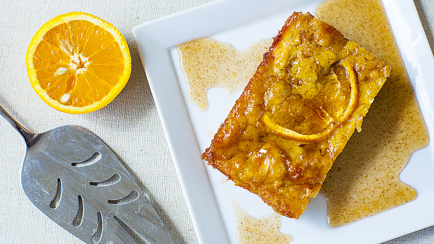 Portokalopita (Greek Orange Phyllo Cake)