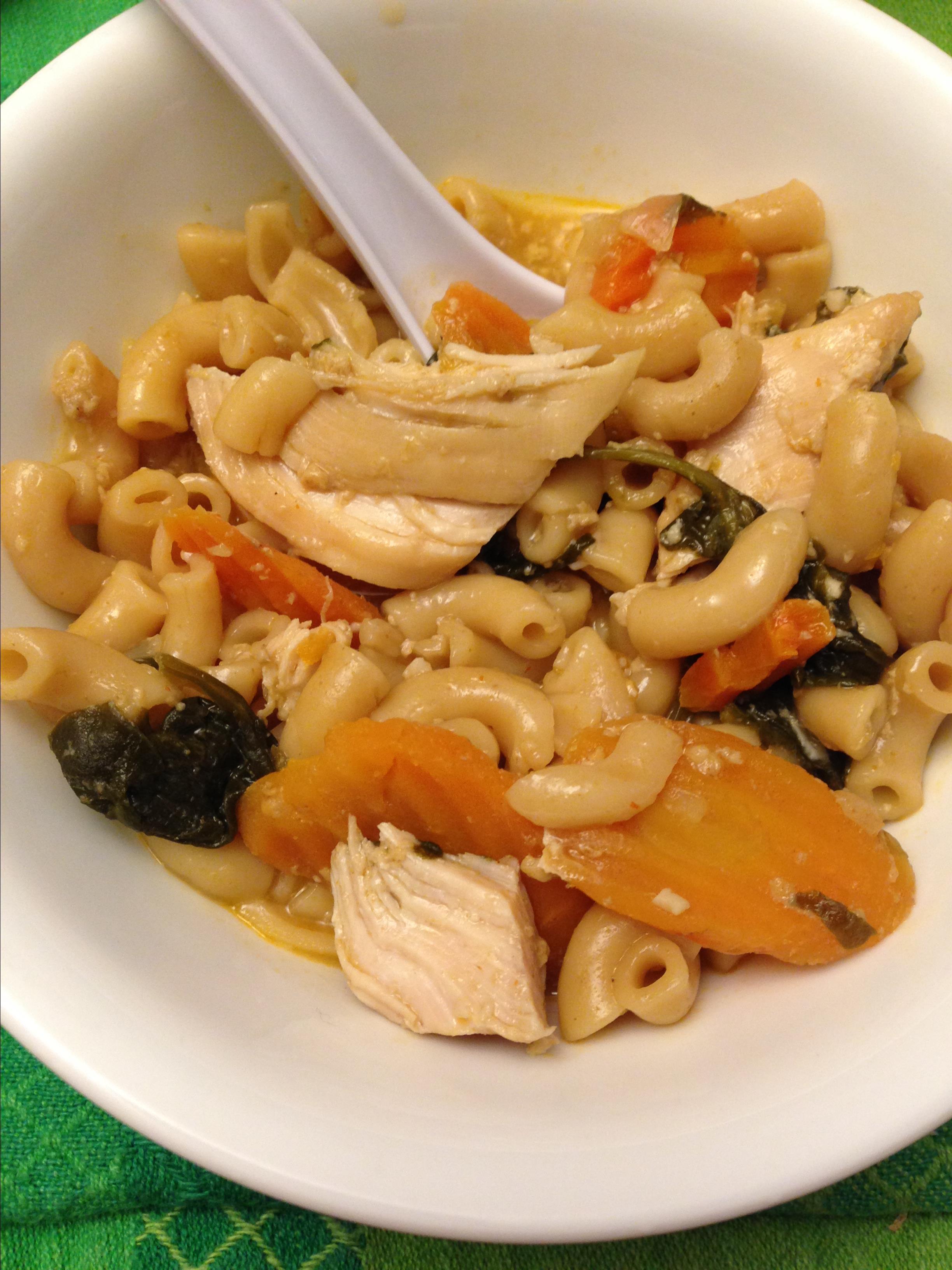 Instant Pot® Coconut Cream Chicken Noodle Soup miglet