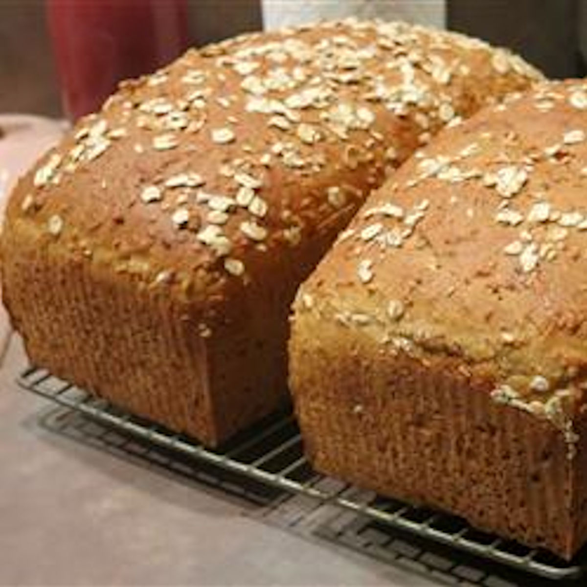 Whole Wheat and Steel-Cut Oats Bread - A Long-Fermentation Bread judy2304