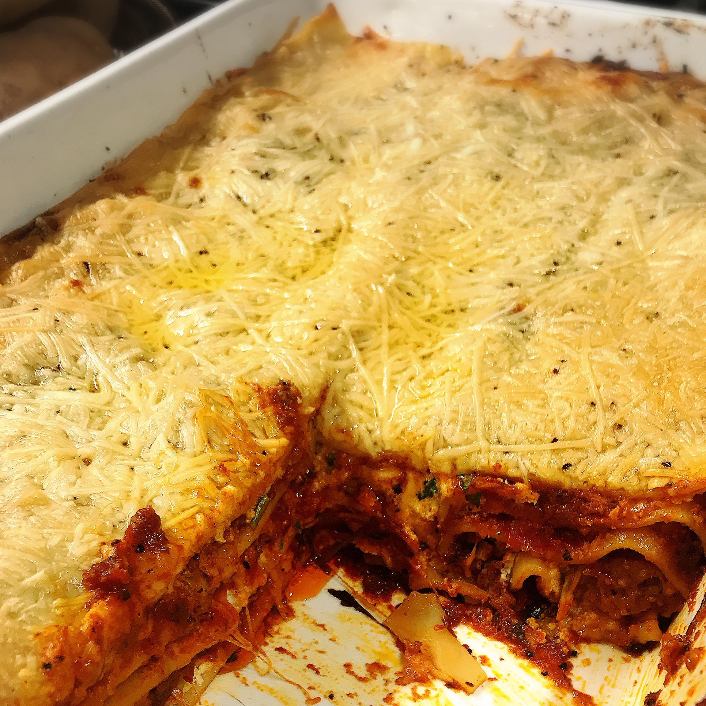 worlds best lasagna