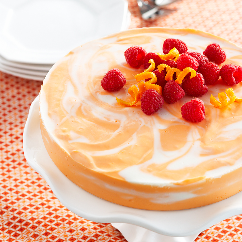 Orange Swirled Cheesecake Diabetic Living Magazine