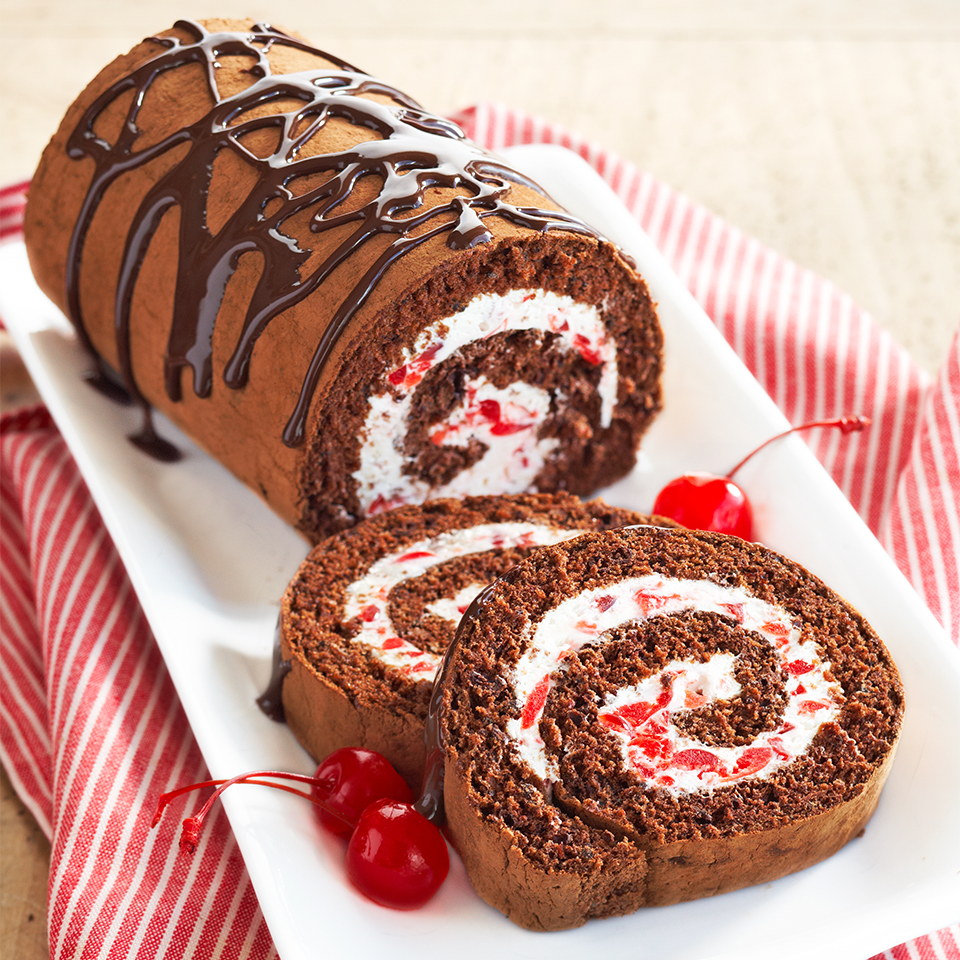 Black Forest Cake Roll Trusted Brands
