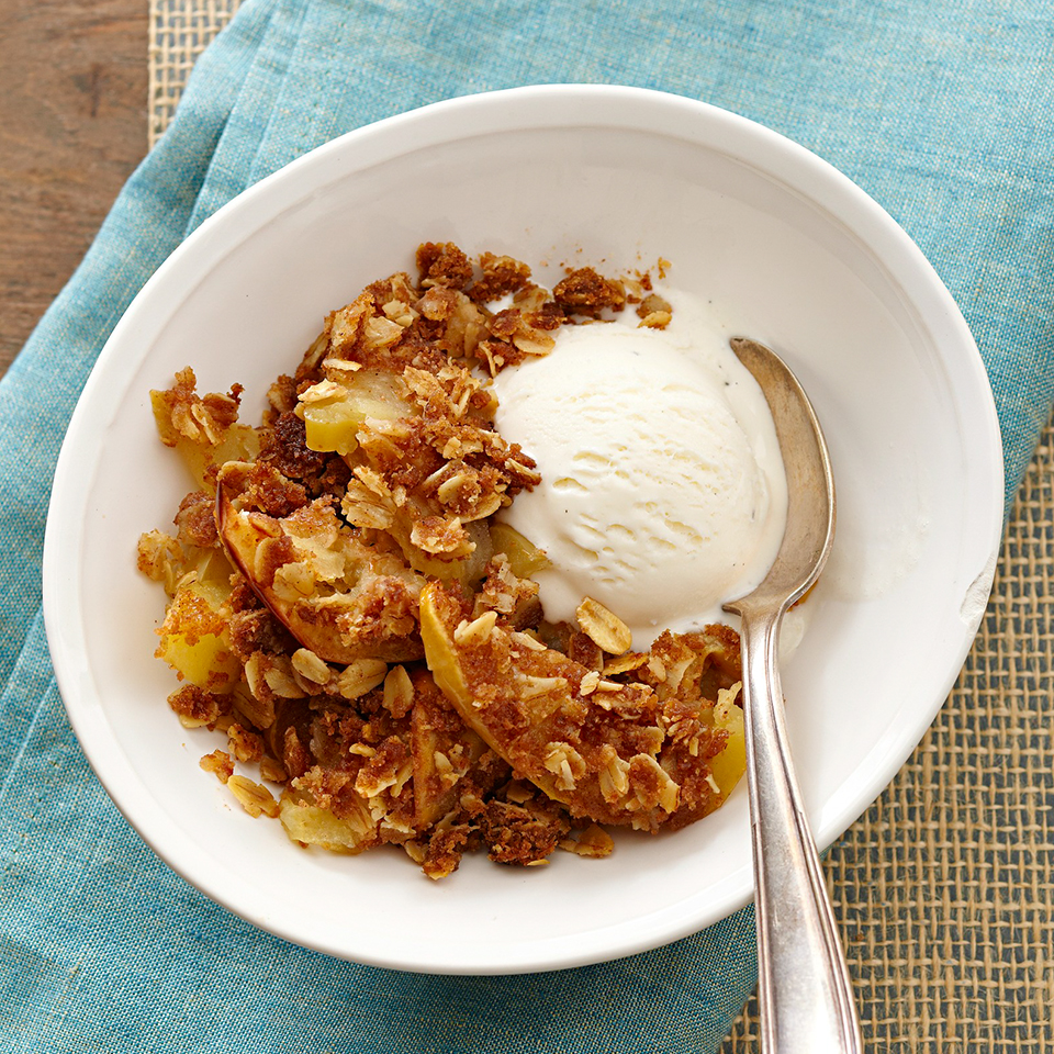 Apple Crumble with Oats Diabetic Living Magazine