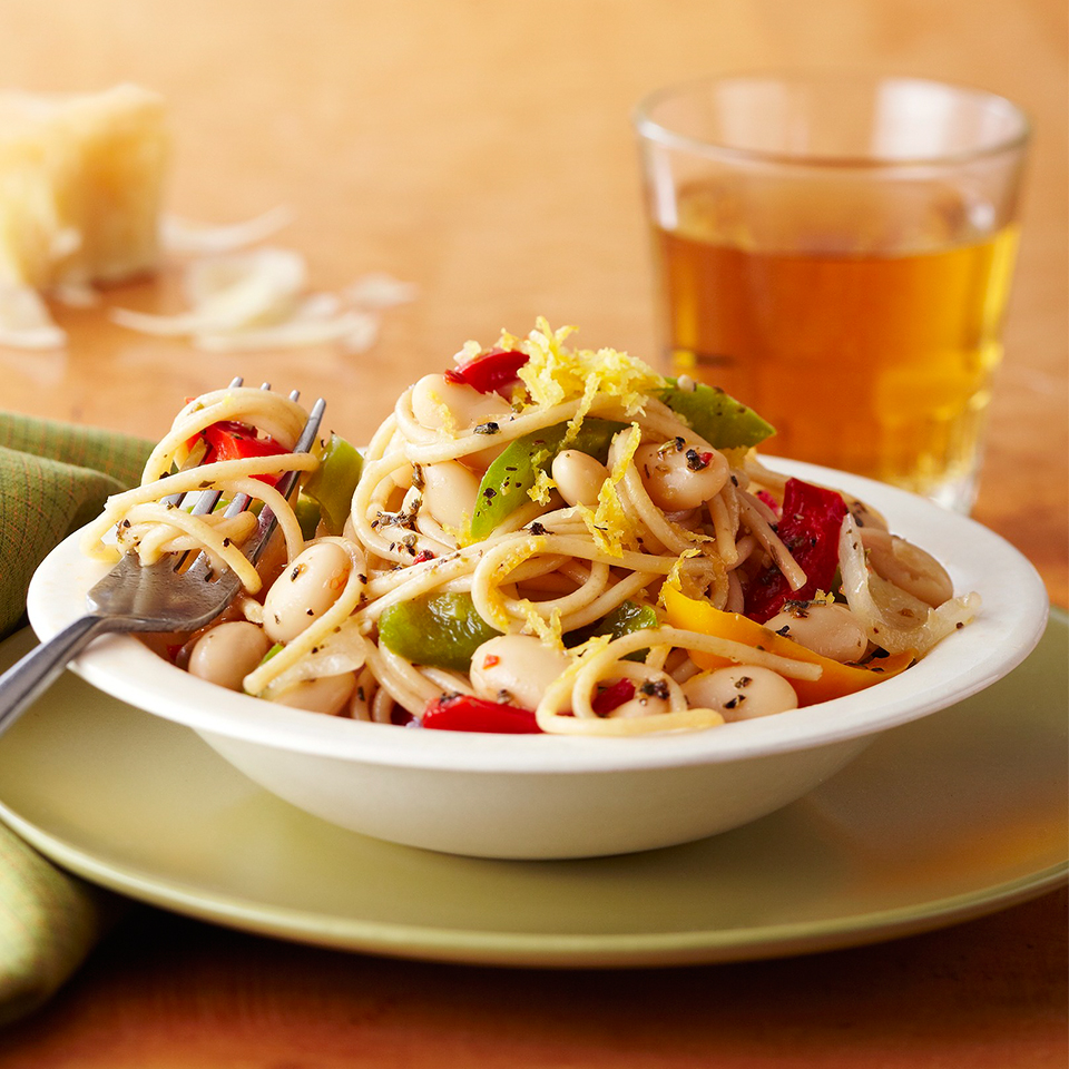 Easy Pasta and Pepper Primavera Diabetic Living Magazine