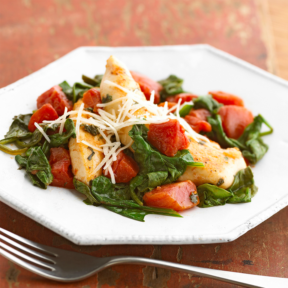 Basil-Tomato Chicken Skillet Allrecipes Trusted Brands