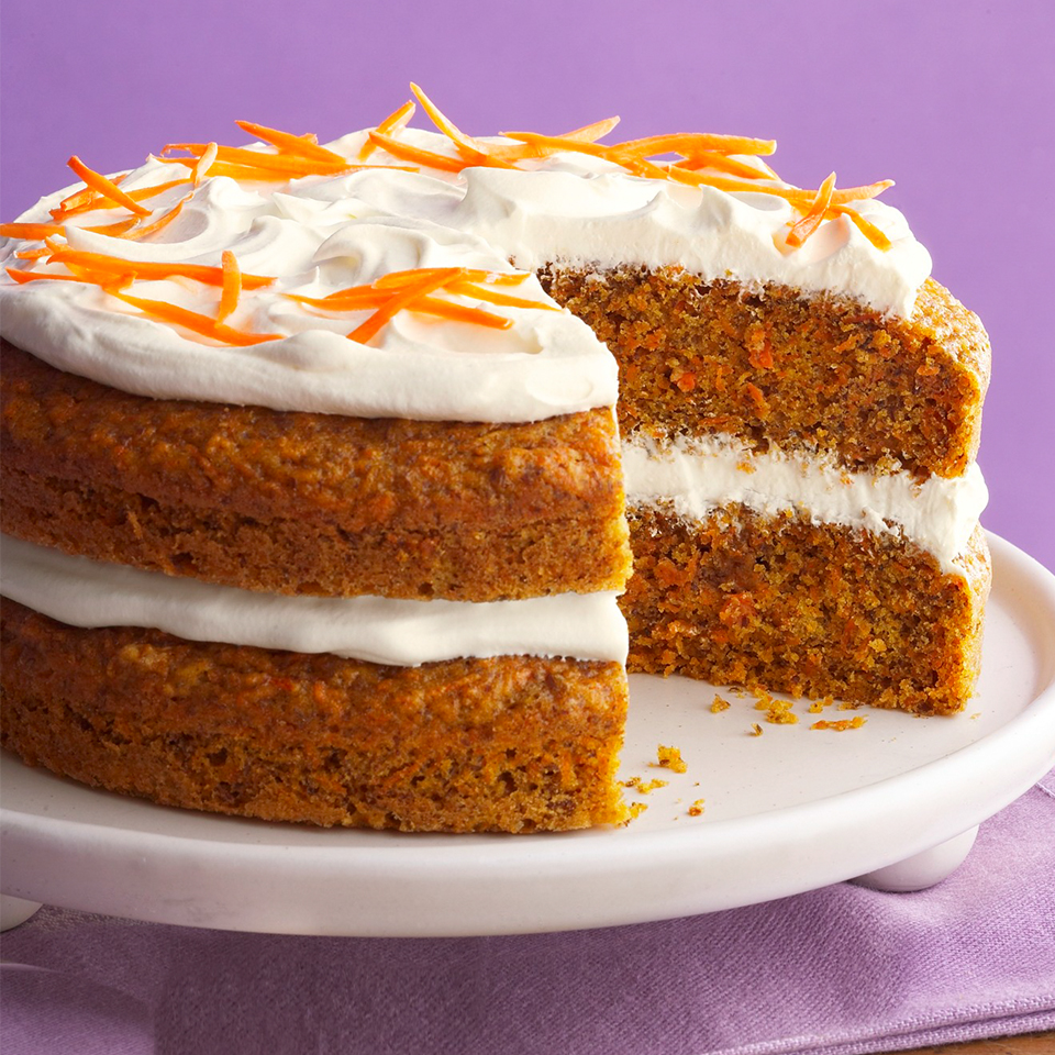 Superb Diabetic Carrot Cake Recipe Eatingwell Funny Birthday Cards Online Inifofree Goldxyz