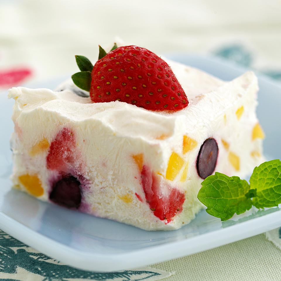 Peach-Berry Frozen Dessert Trusted Brands