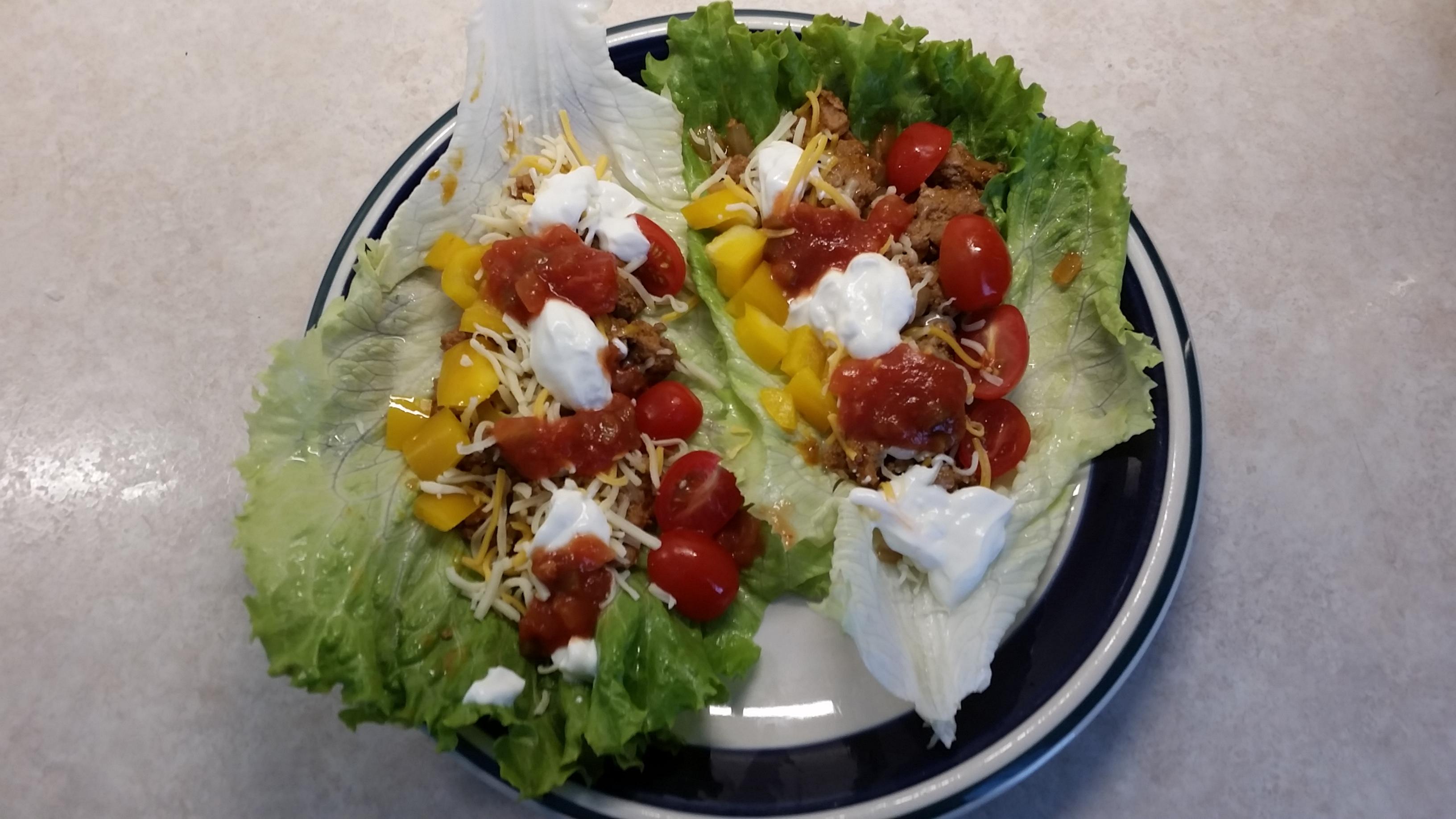 Lettuce Leaf Tacos Bradley Dudley