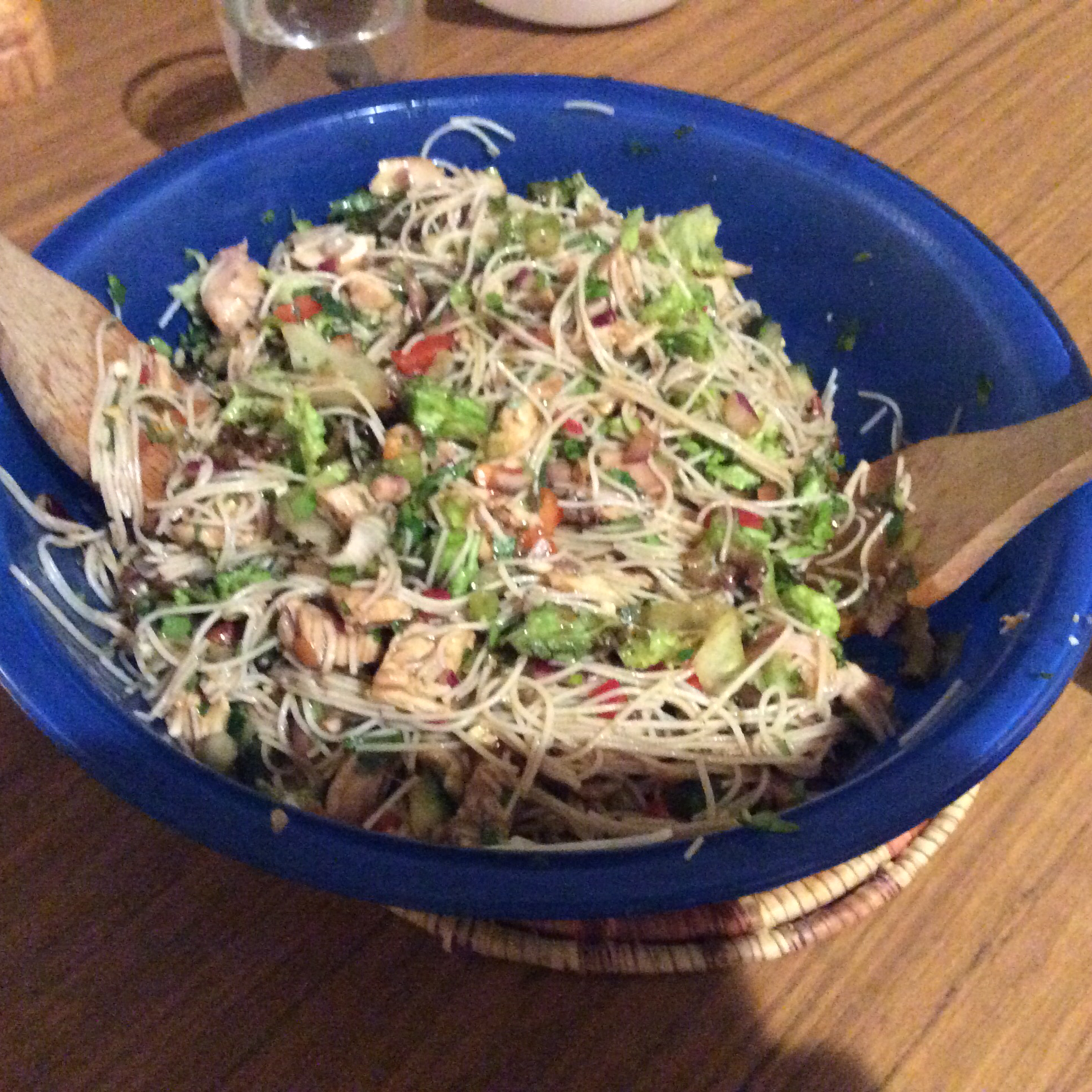 Thai Rice Noodle Salad The Unicorn Chef