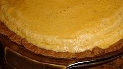 Mary's Pumpkin Chiffon Pie