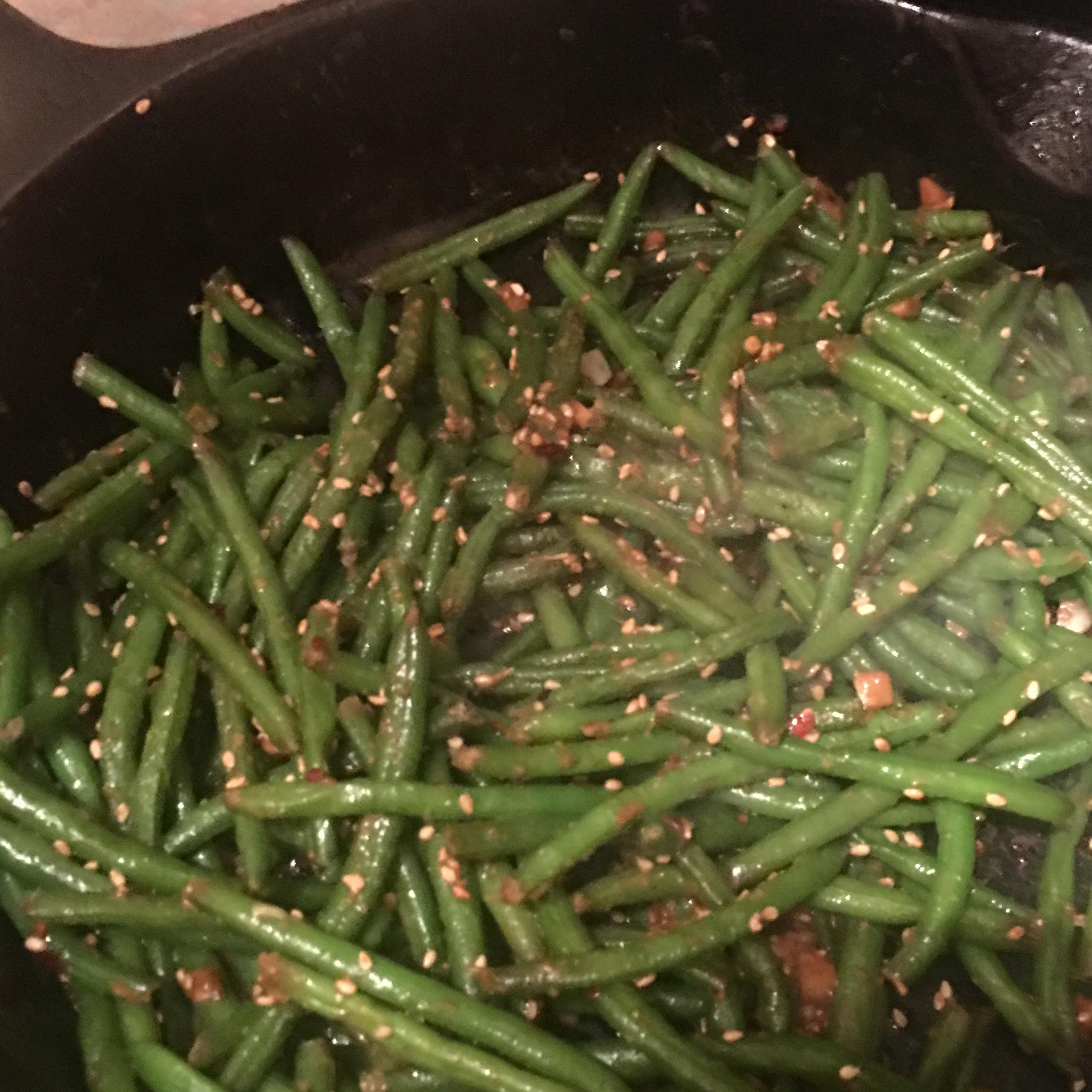 Quick Sesame Green Beans