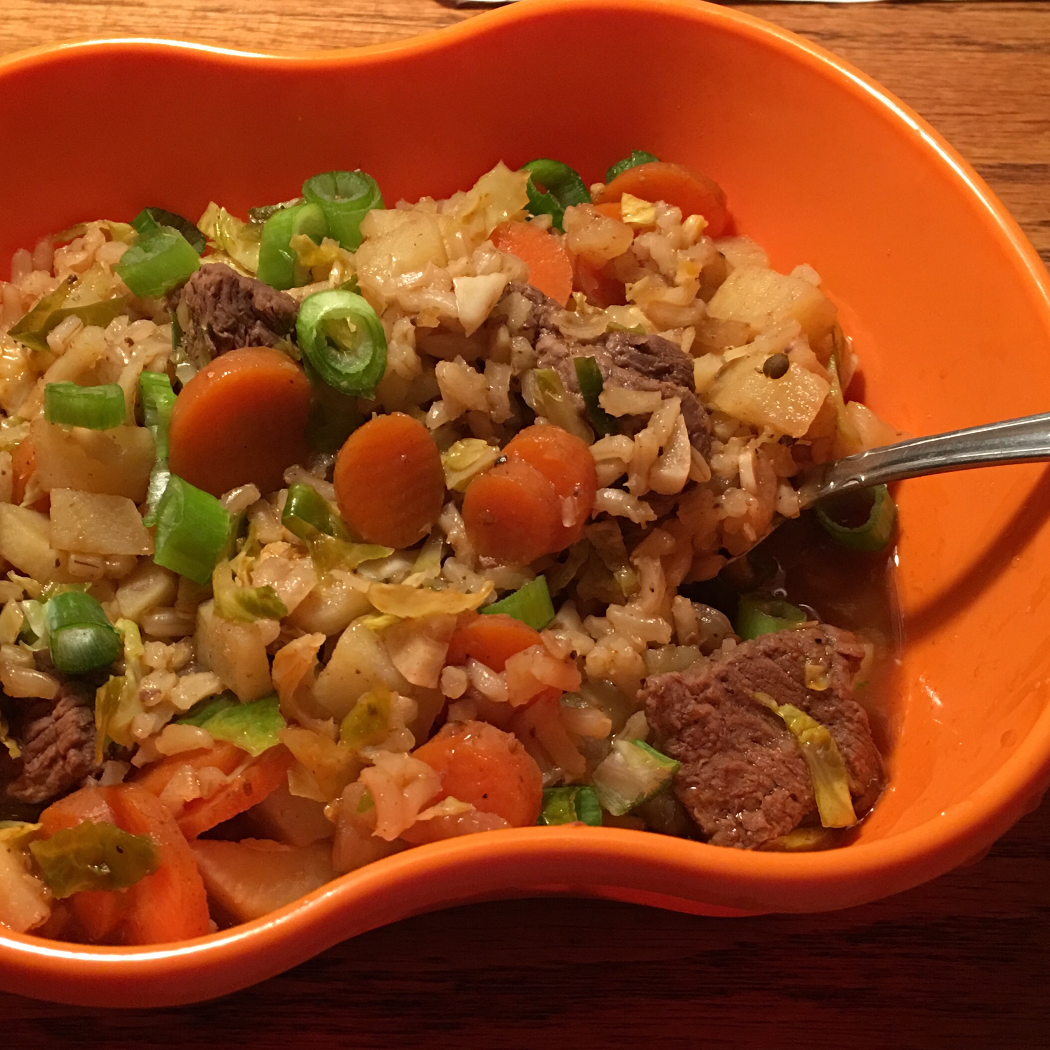 North African Beef and Brown Rice John