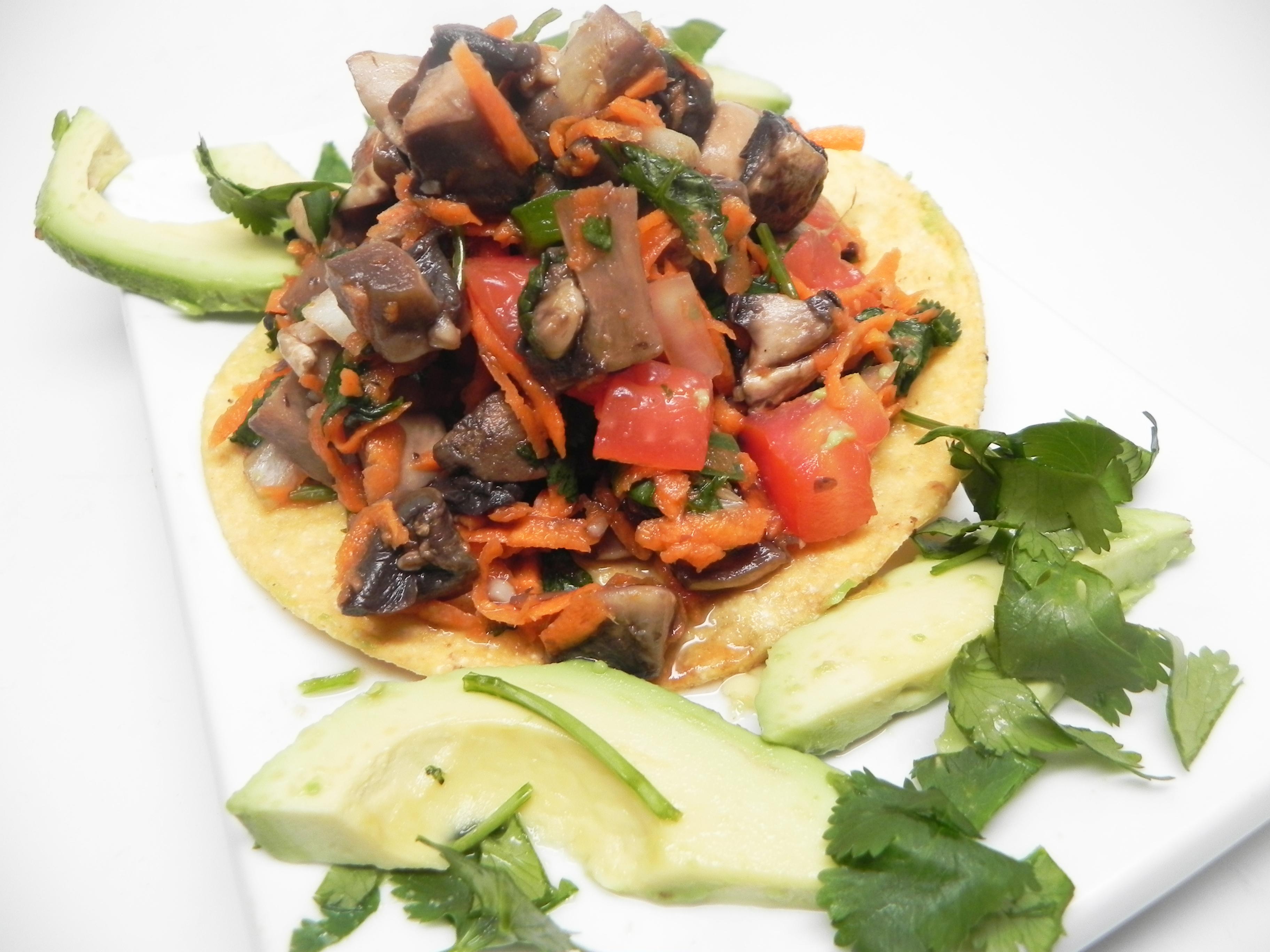 Vegan Mushroom Ceviche