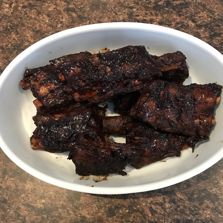 Mom's Stovetop Pork Ribs