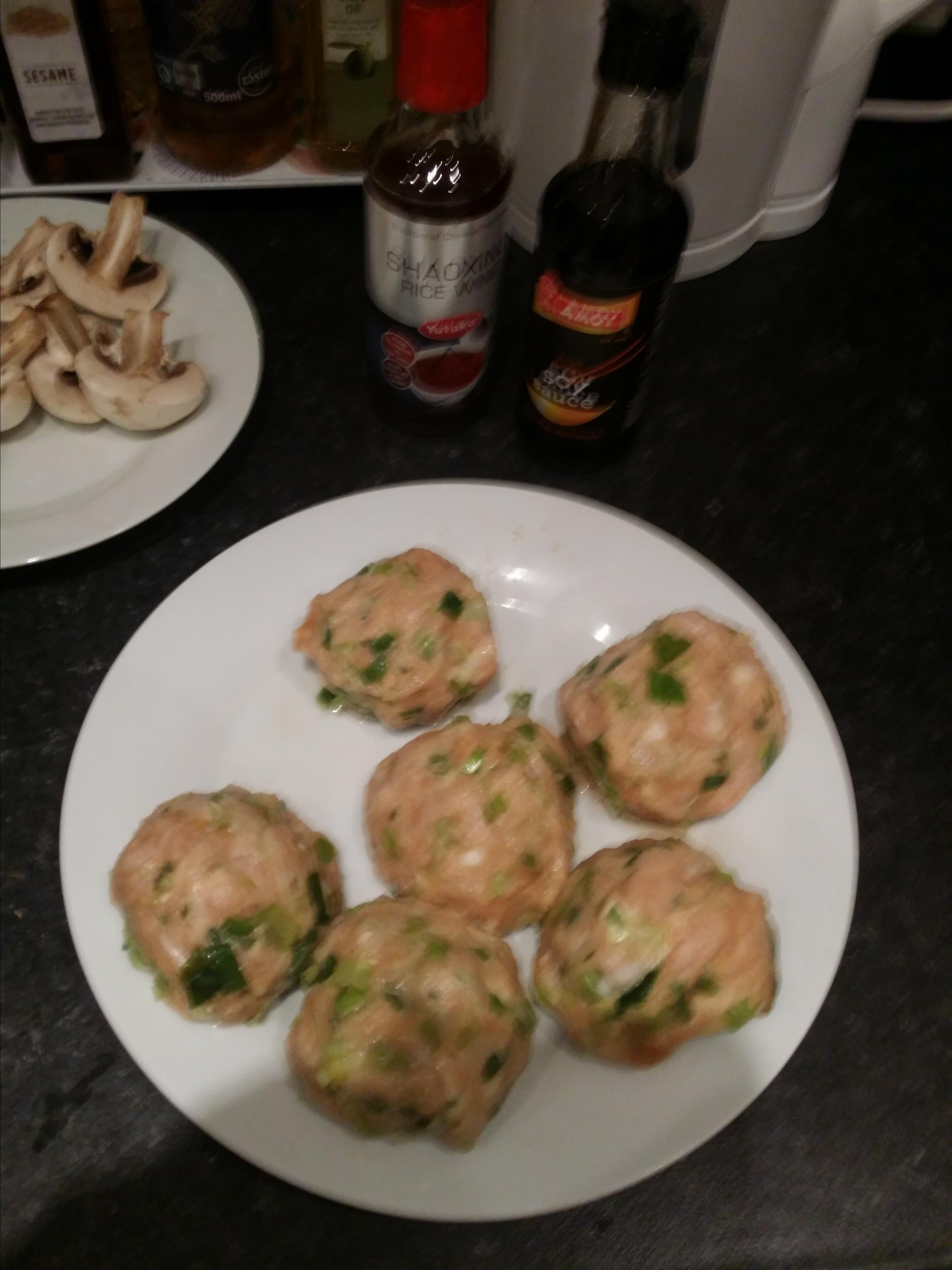 Teriyaki Chicken Meatballs Chris L