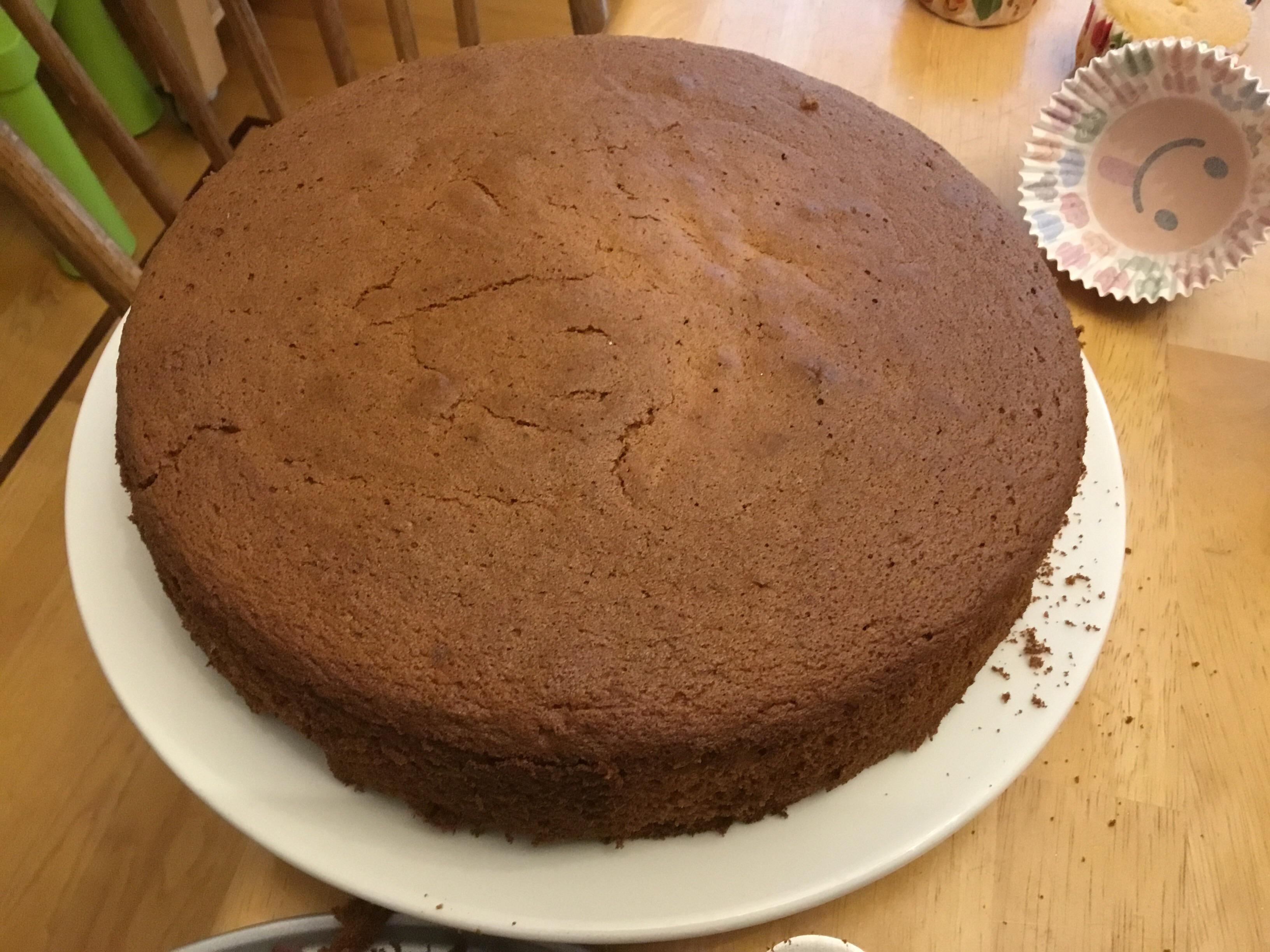 Burnt Sugar Chiffon Cake Claire Lucas