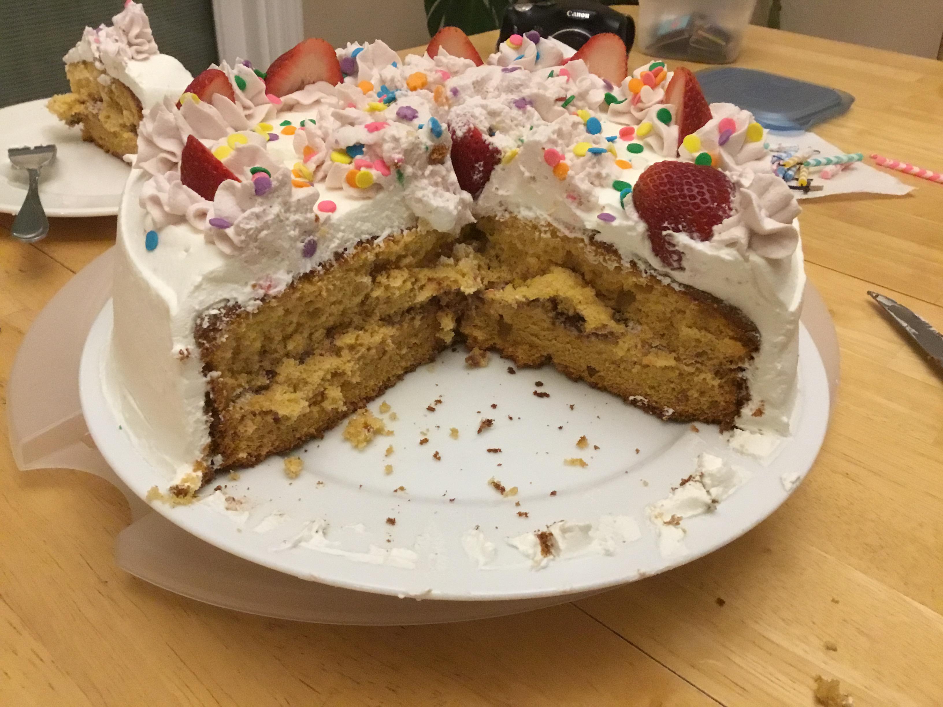 Burnt Sugar Chiffon Cake Ellen