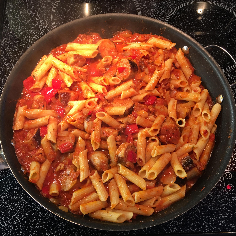 Johnsonville Italian Sausage Rigatoni