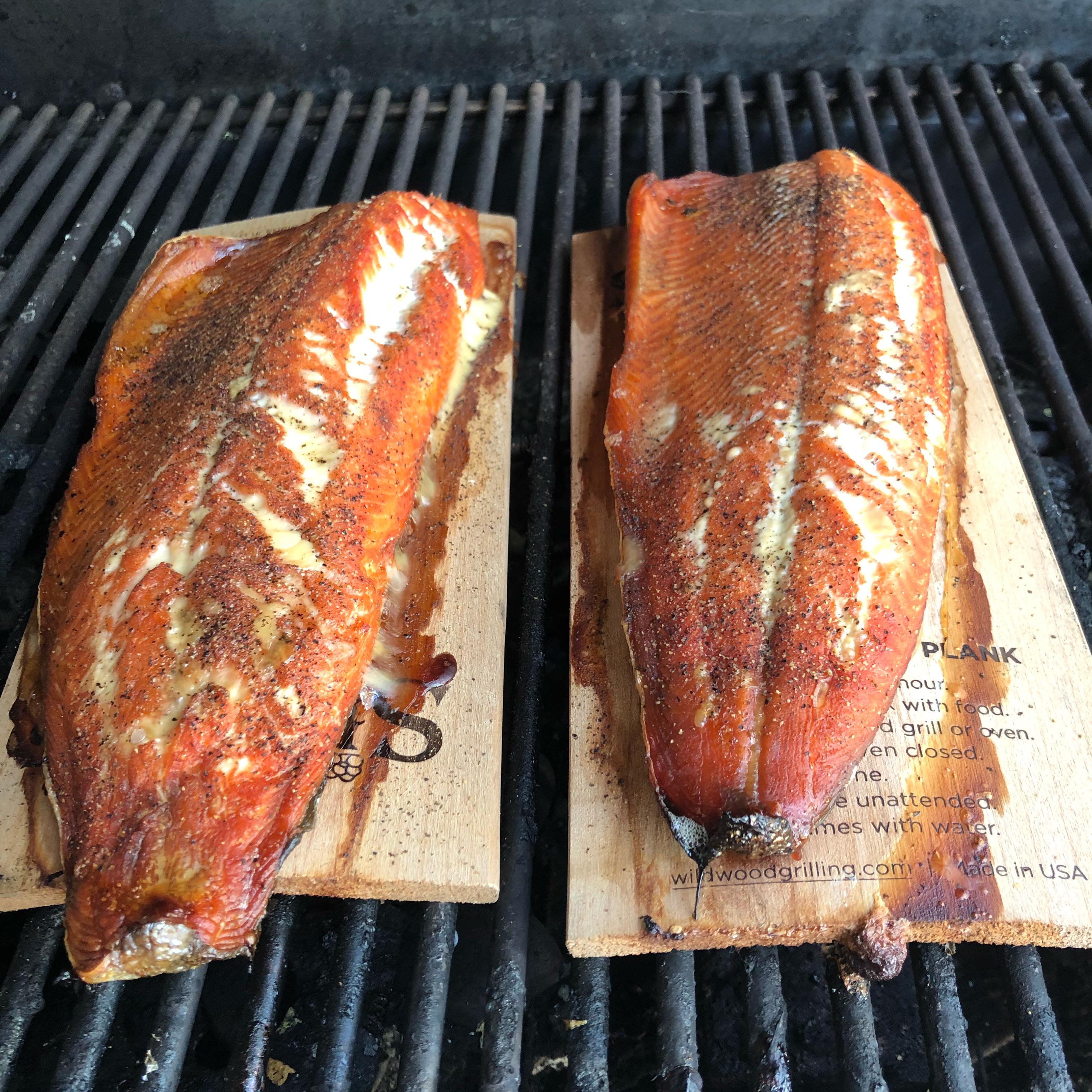 Alder Plank Smoked Salmon Fabiola Sanabria Elias