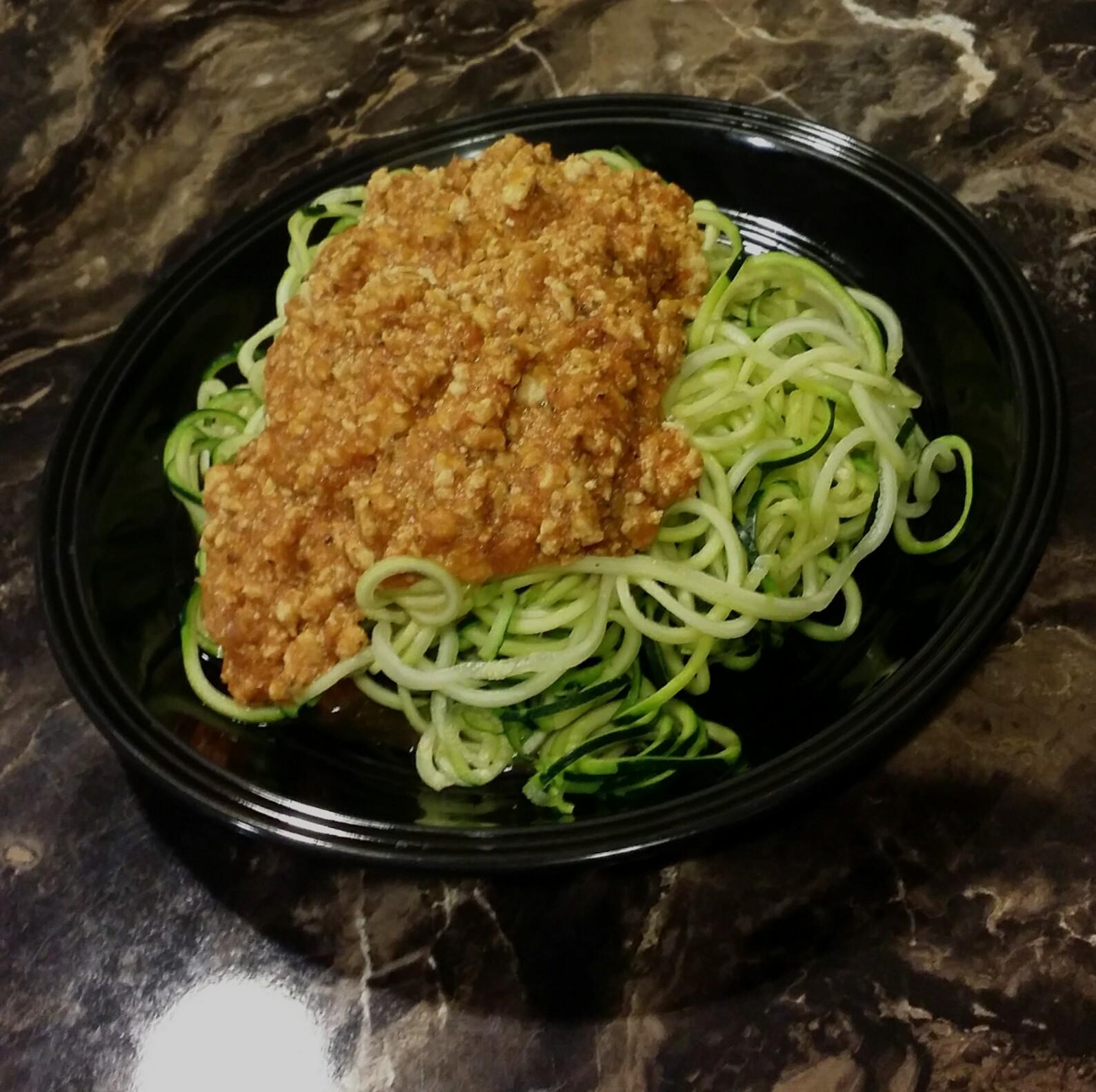Zucchini Spaghetti Kayla Gilmore
