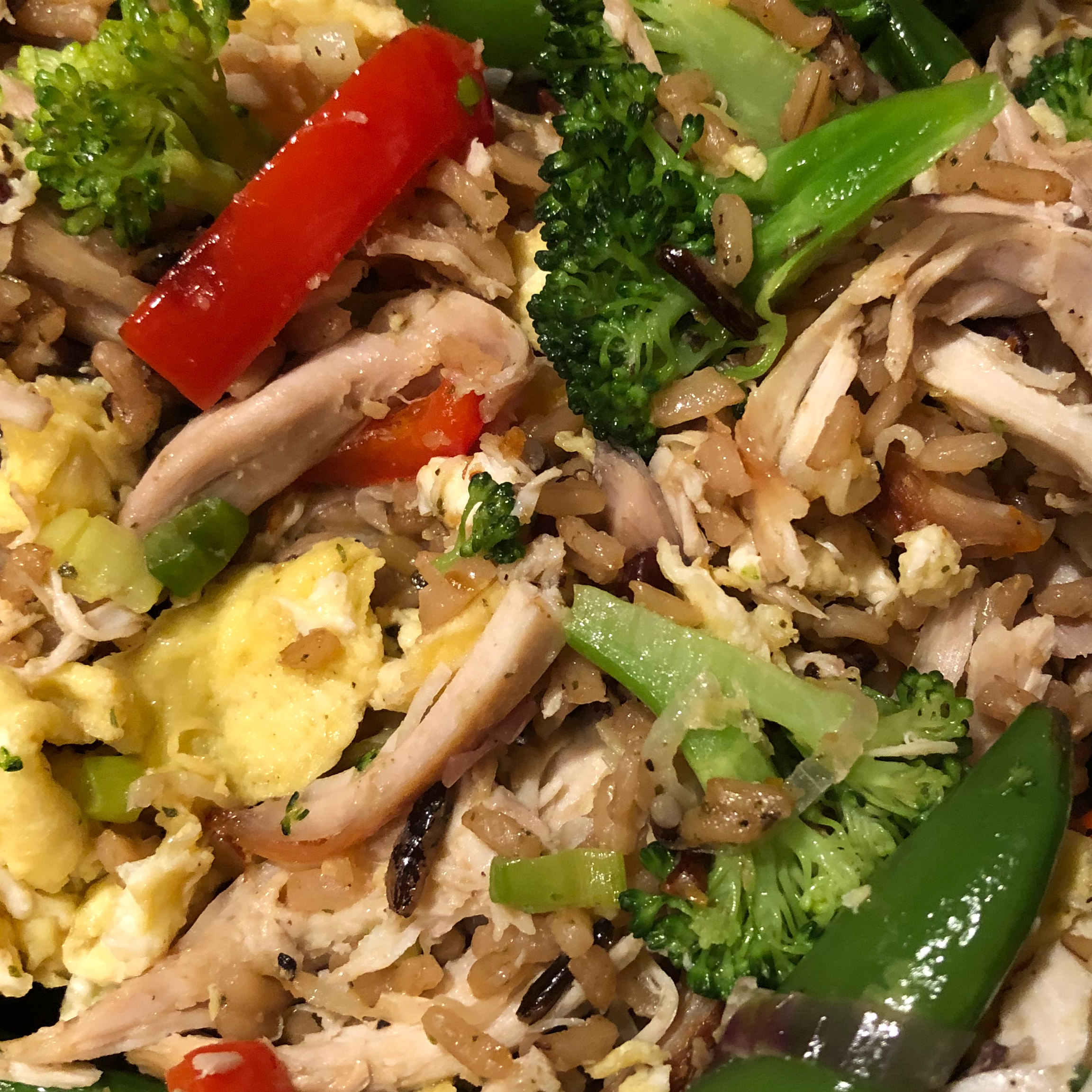 Chicken and Multi-Grain Stir Fry